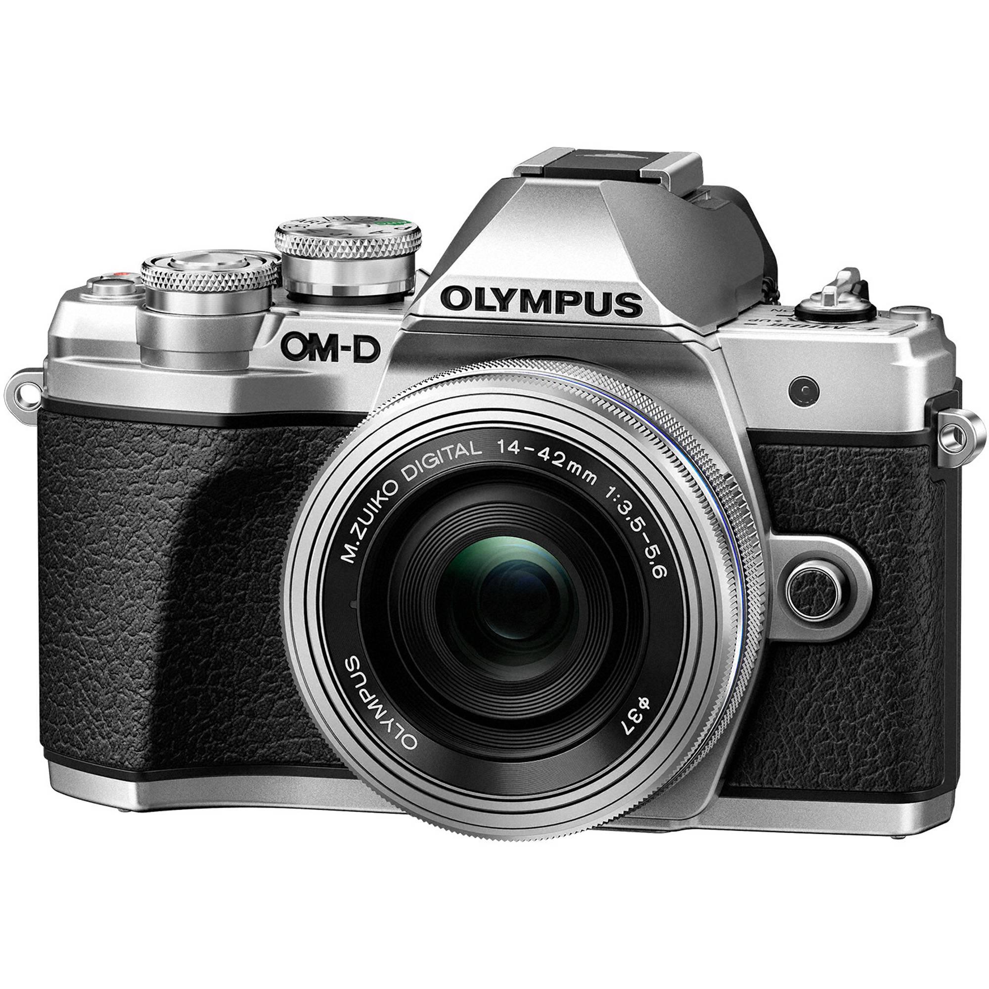 Olympus OM-D E-M10 Mark III Mirrorless Micro Four V207072SU010