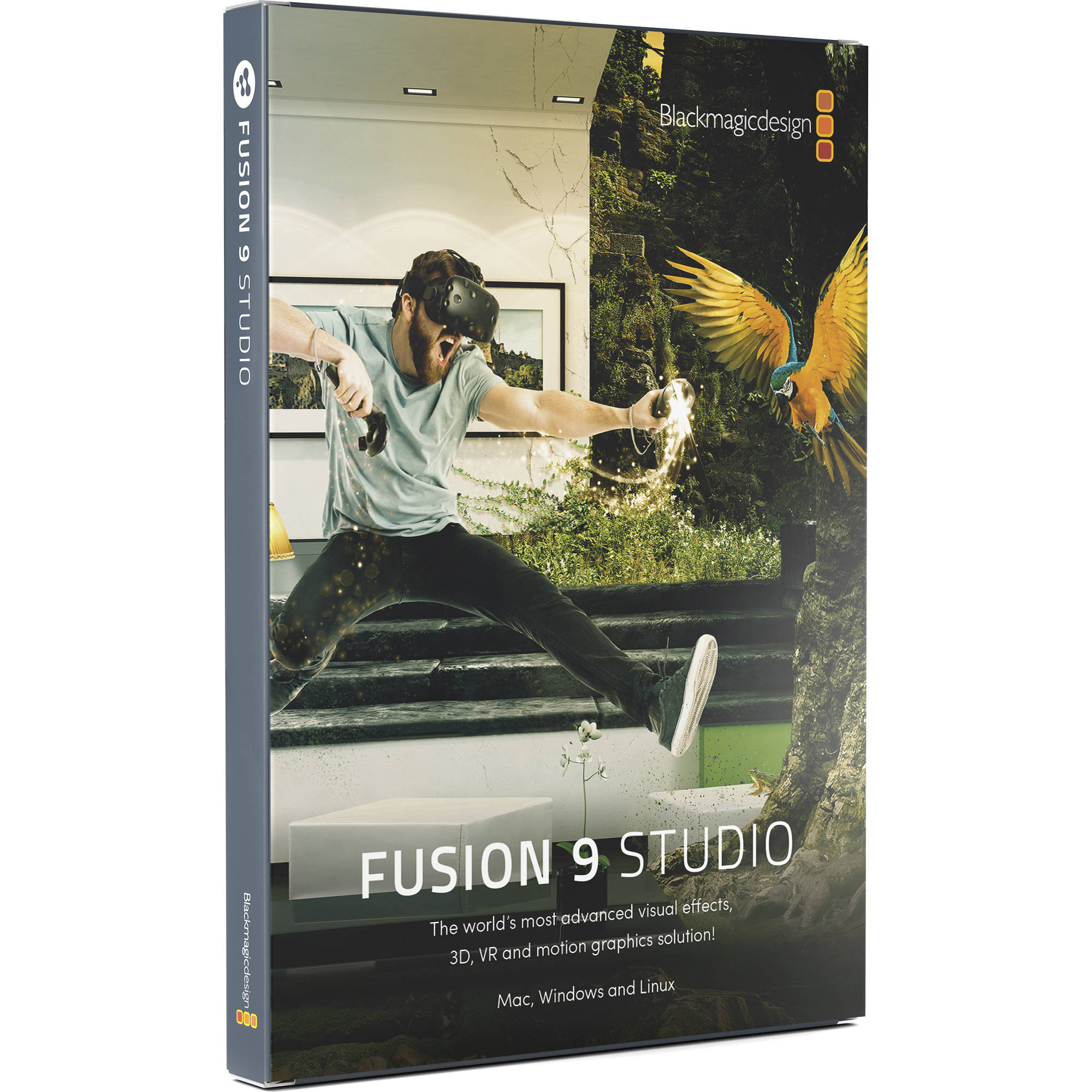 Blackmagic Design Fusion 9 Studio for Mac and Windows (Dongle, Electronic  Download)
