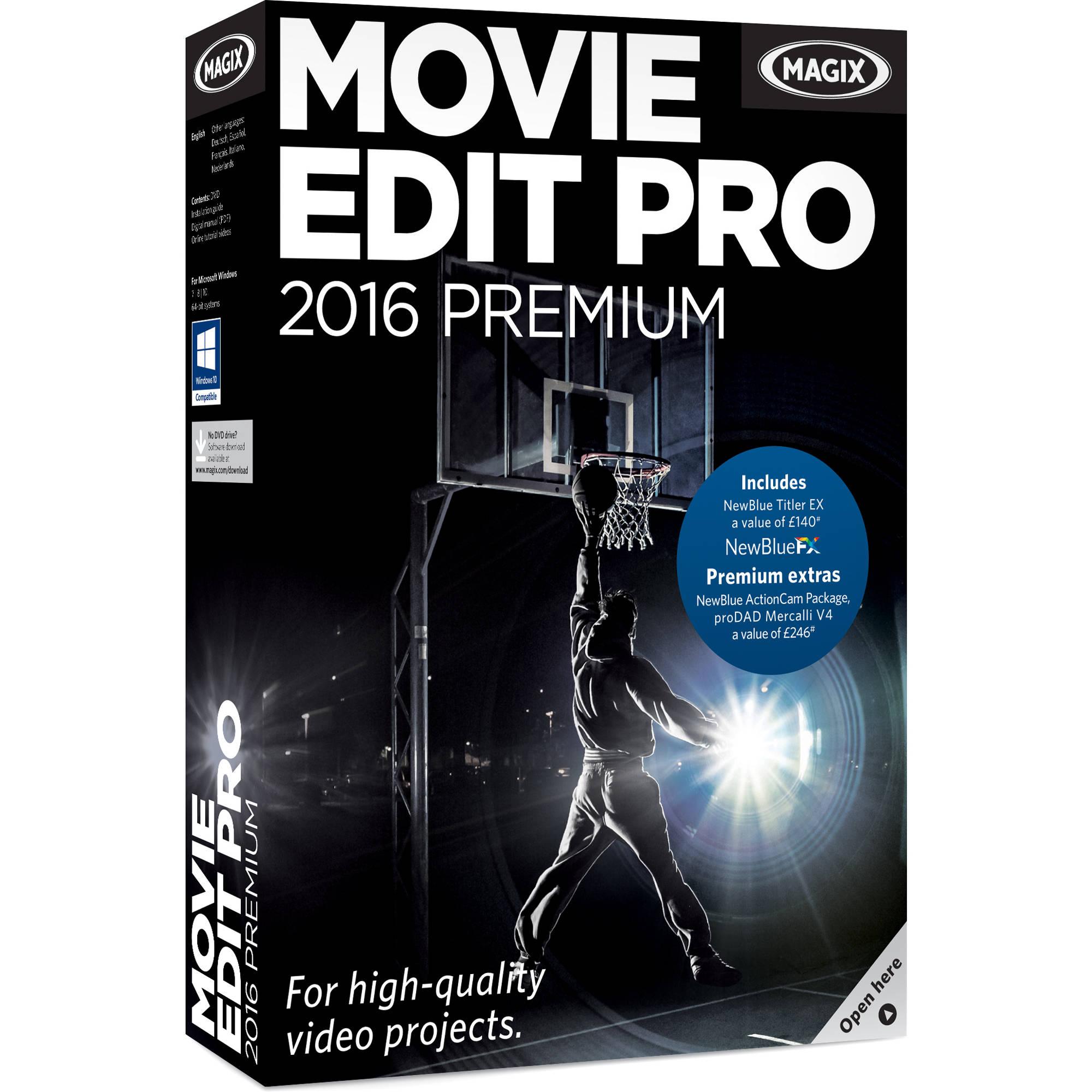 Magix Entertainment Movie Edit Pro Premium Volume 100 Download