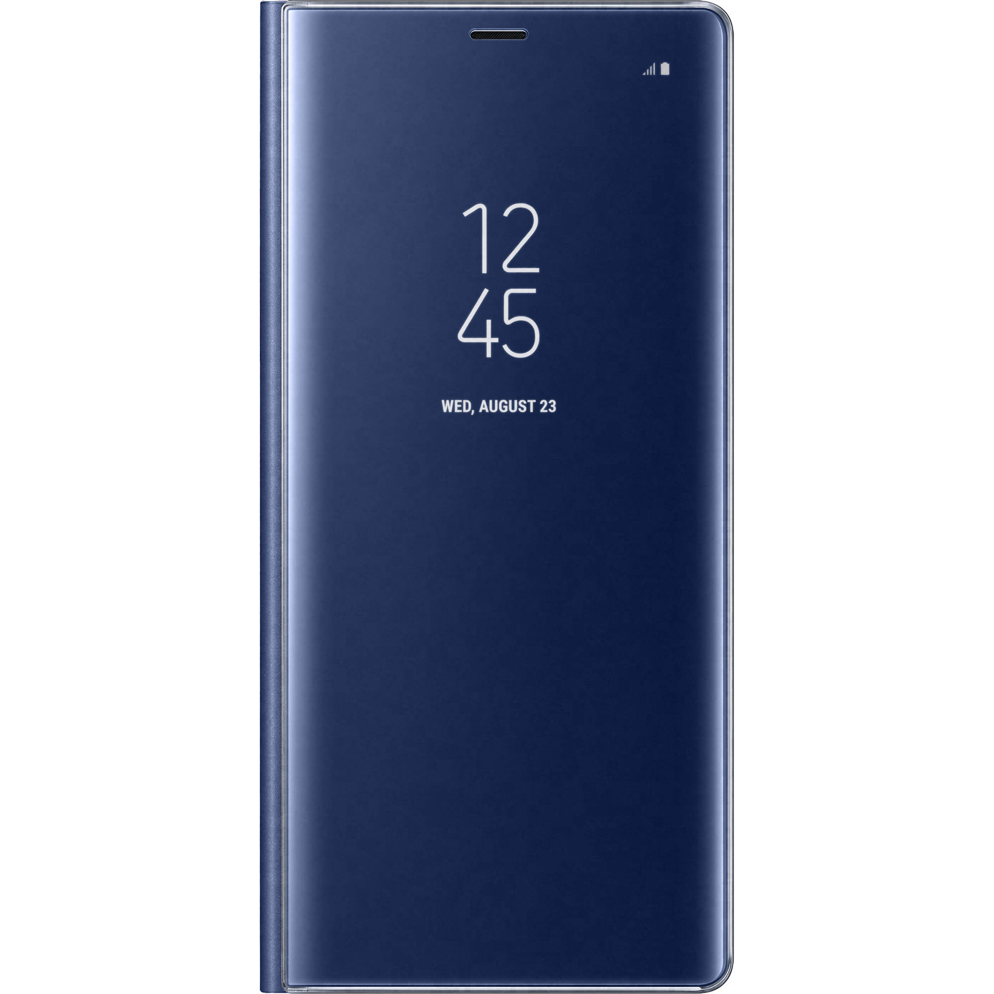 meet 66960 1fa38 Samsung S-View Flip Cover for Galaxy Note 8 (Blue)