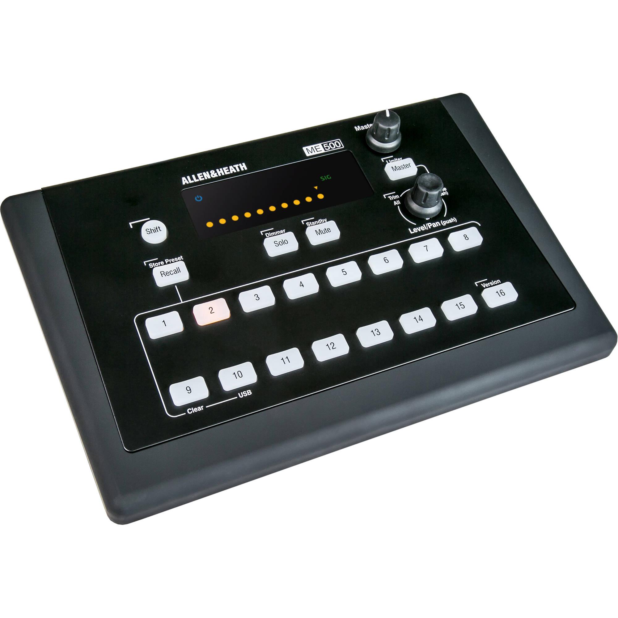 16 Channel 500 Allenamp; Me Heath Personal Mixer ZiuPXTOk