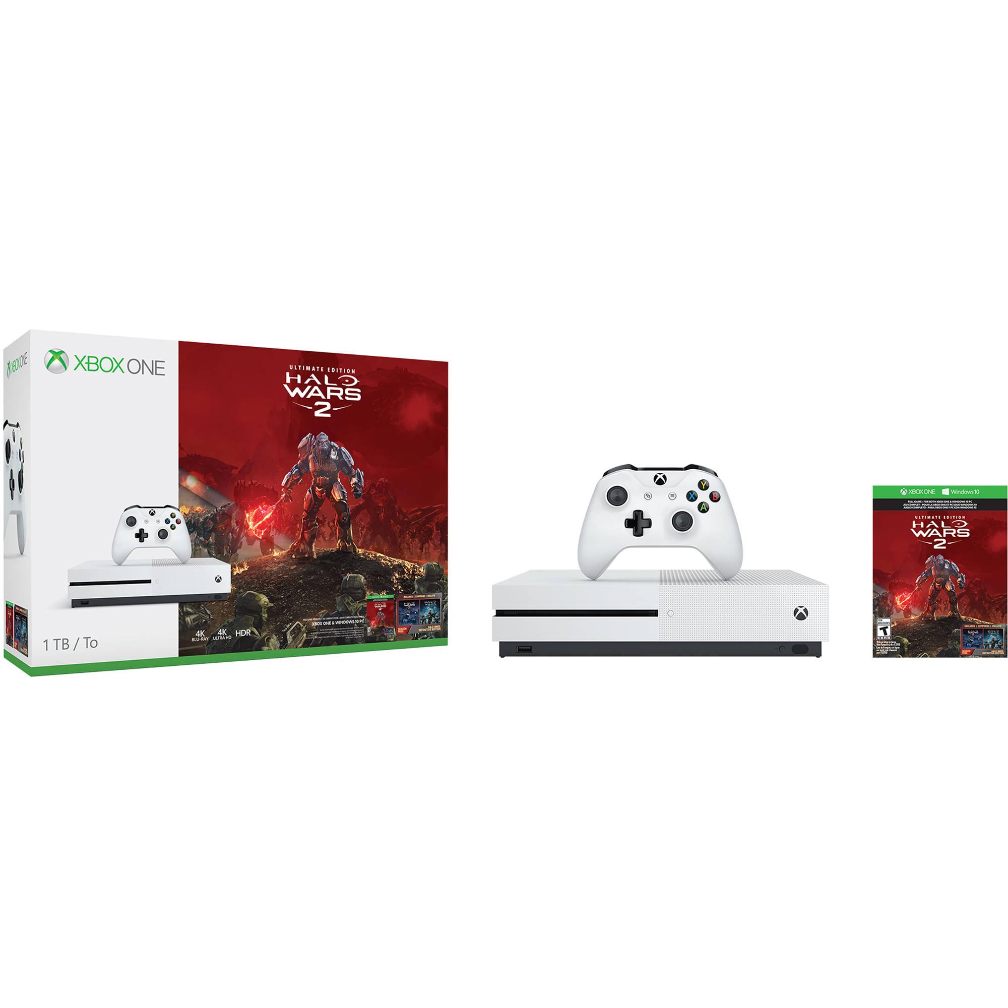Microsoft Xbox One S Halo Wars 2 Bundle