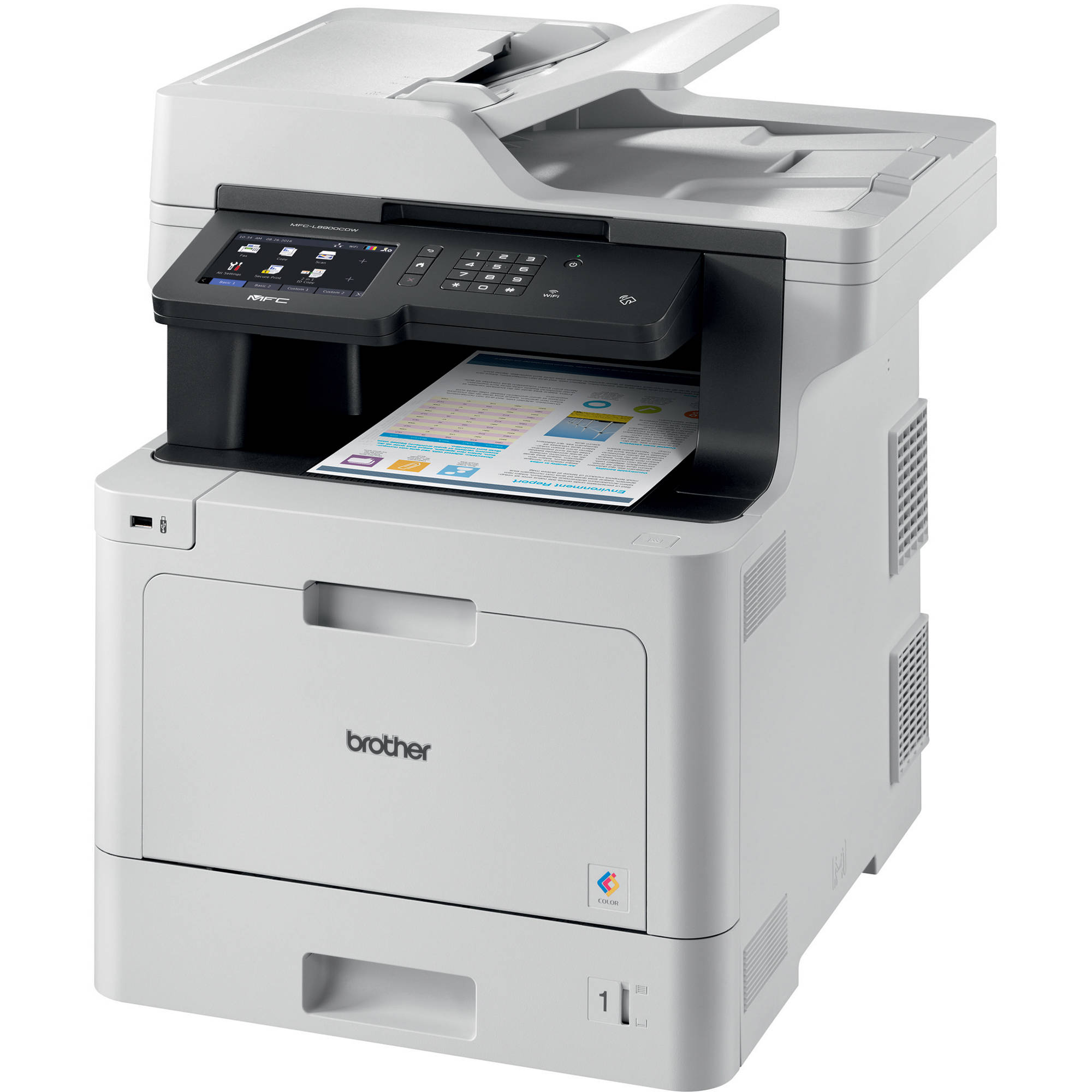 Best All In One Color Laser Printer 2020.Brother Mfc L8900cdw All In One Color Laser Printer