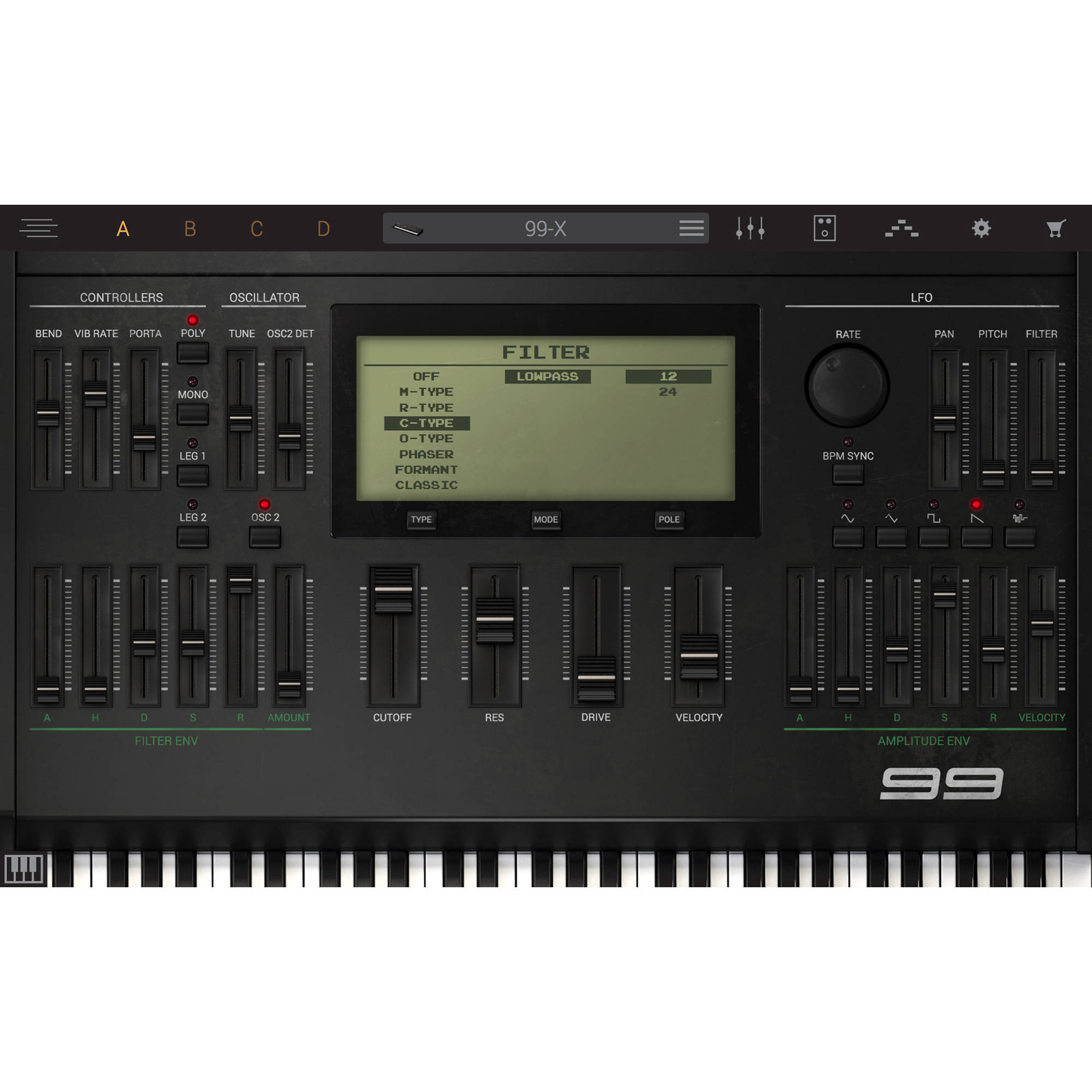IK Multimedia Syntronik 99 - Virtual Synthesizer Plug-In (Download)