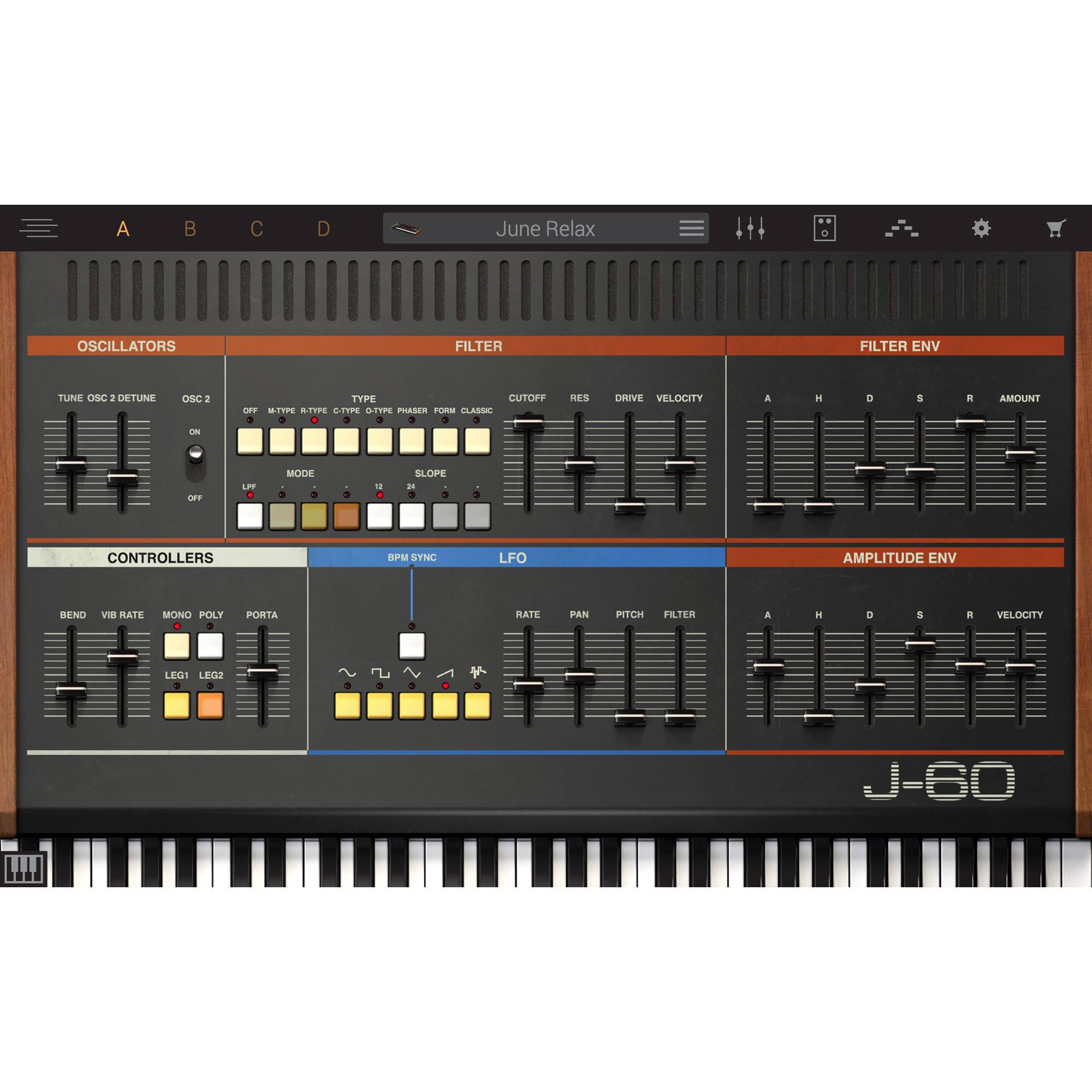 IK Multimedia Syntronik J-60 - Virtual Synthesizer Plug-In (Download)