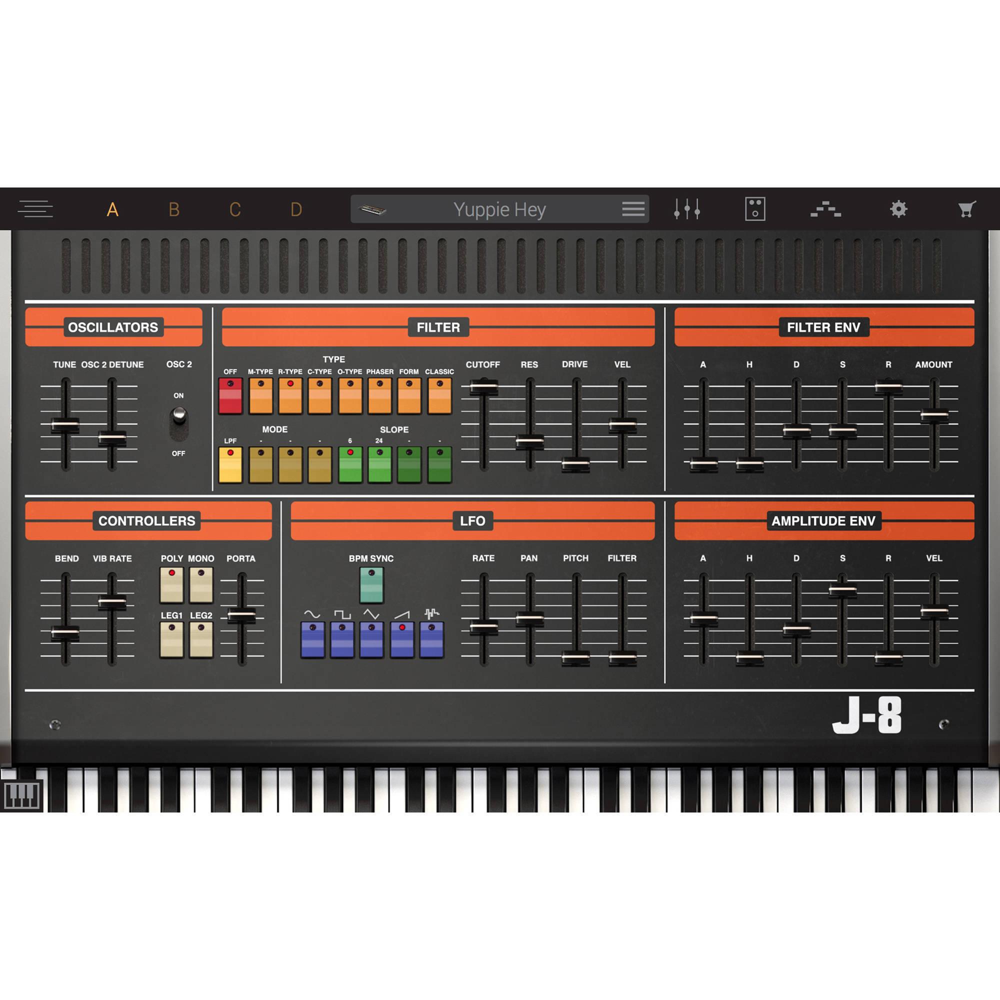 IK Multimedia Syntronik J-8 - Virtual Synthesizer Plug-In (Download)