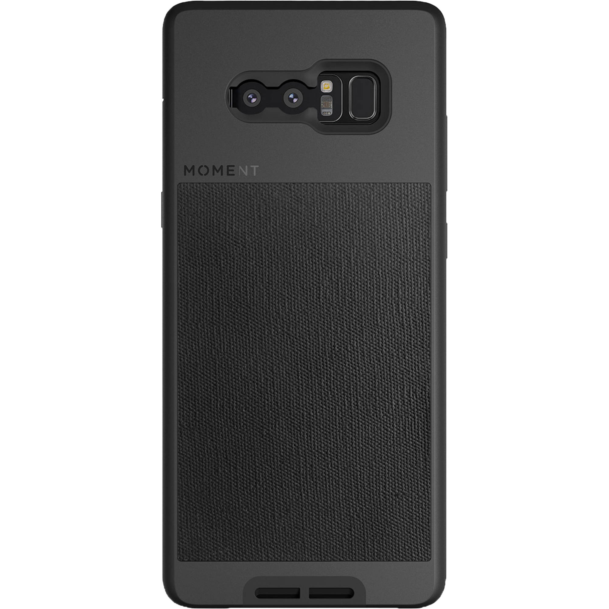 huge discount a4d42 2d919 Moment Photo Case for Galaxy Note 8 (Black Canvas)