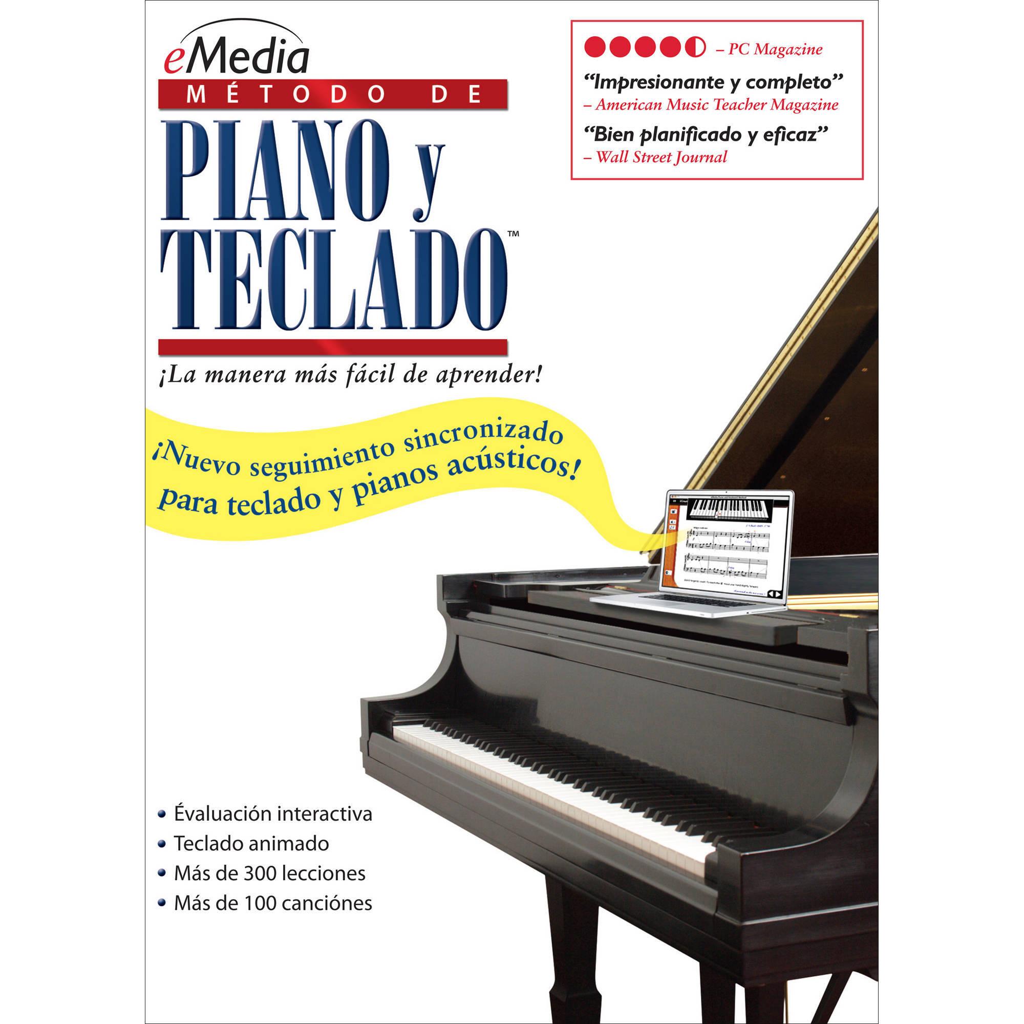 eMedia Music Piano and Keyboard Method v3 Spanish - EK03172DLW