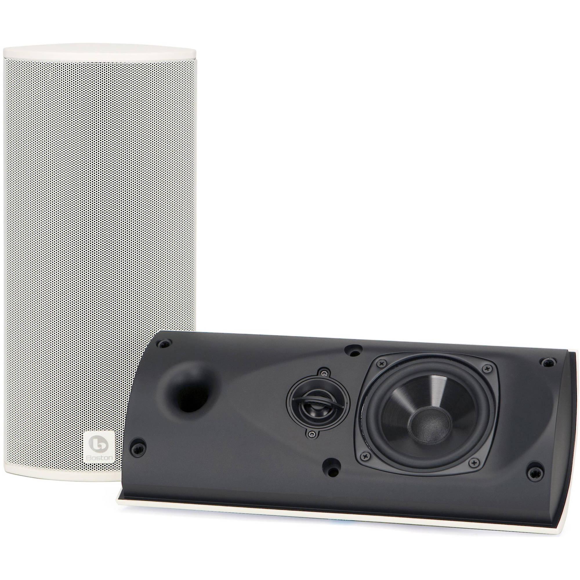 Boston Acoustics Bravo 20 On-Wall, 2-Way Loudspeaker (Single, White)