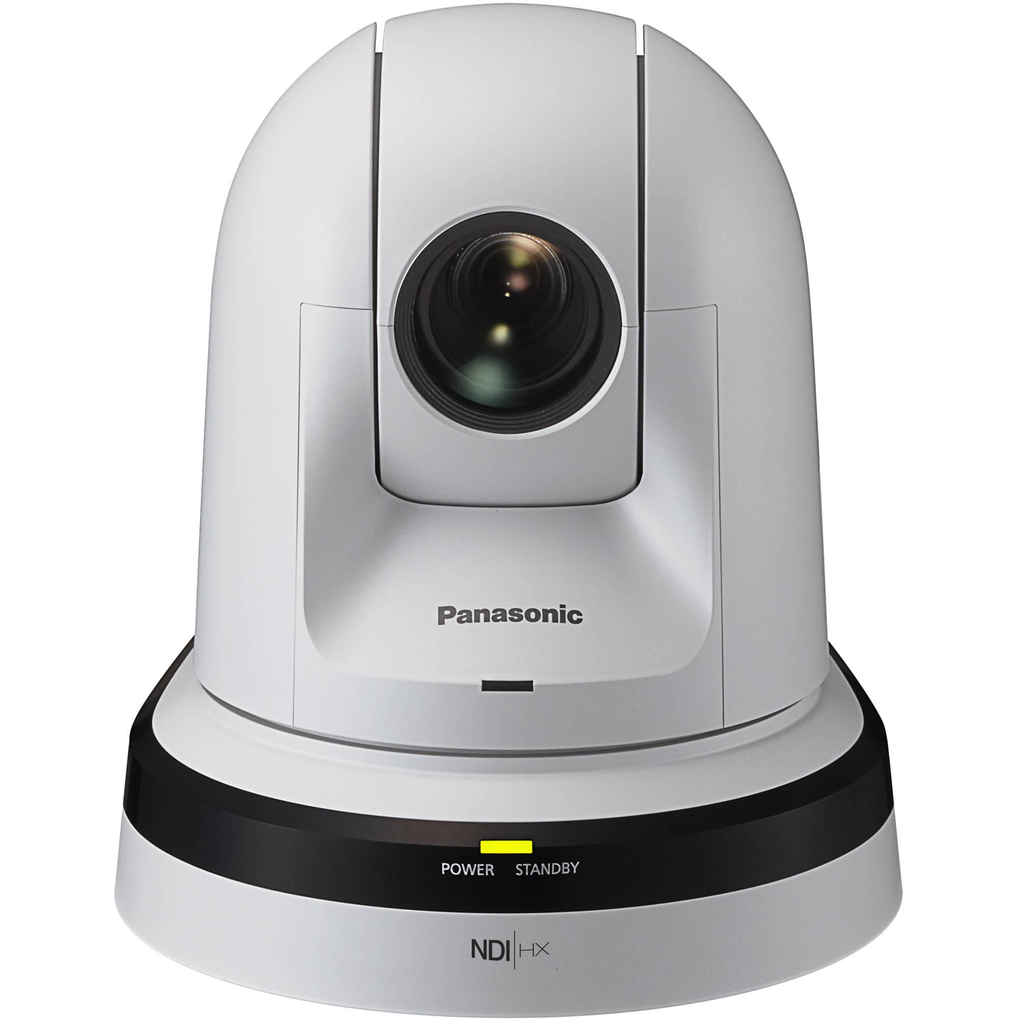 Panasonic 30x Zoom PTZ Camera with HDMI Output and NDI (White)