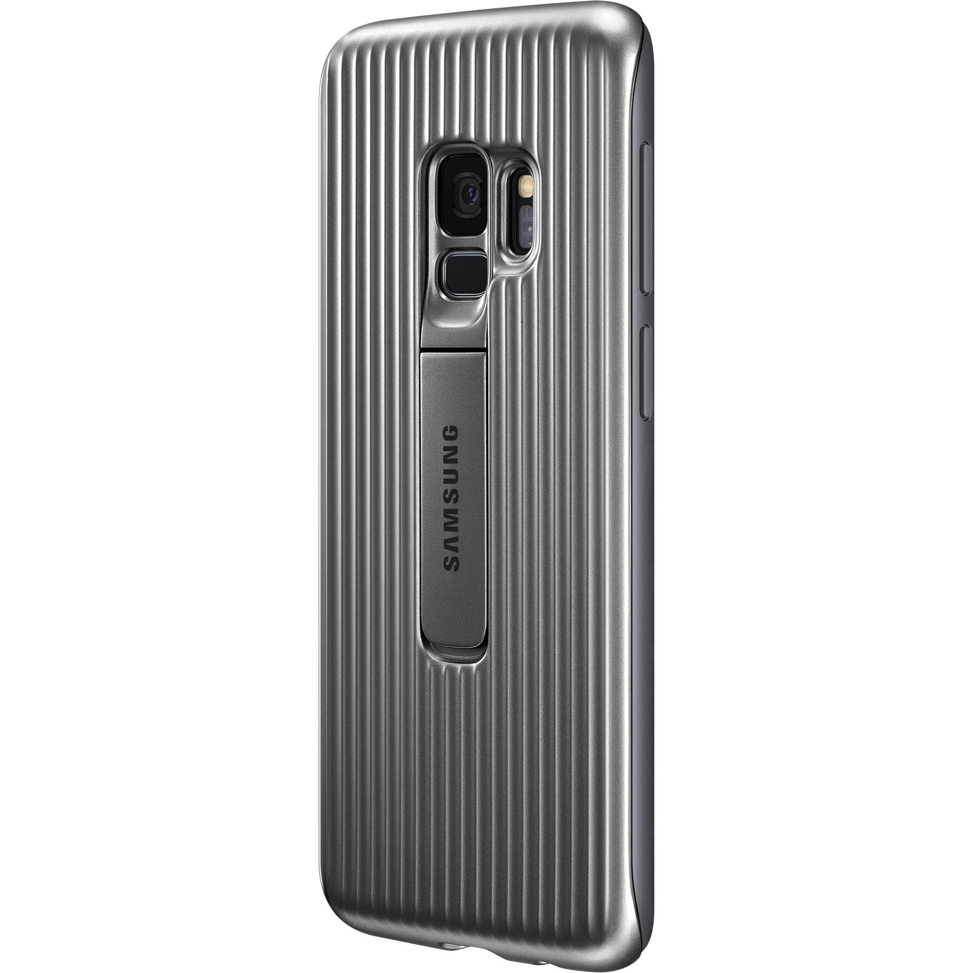 promo code 7d48d 81c86 Samsung Rugged Case for Galaxy S9 (Silver)