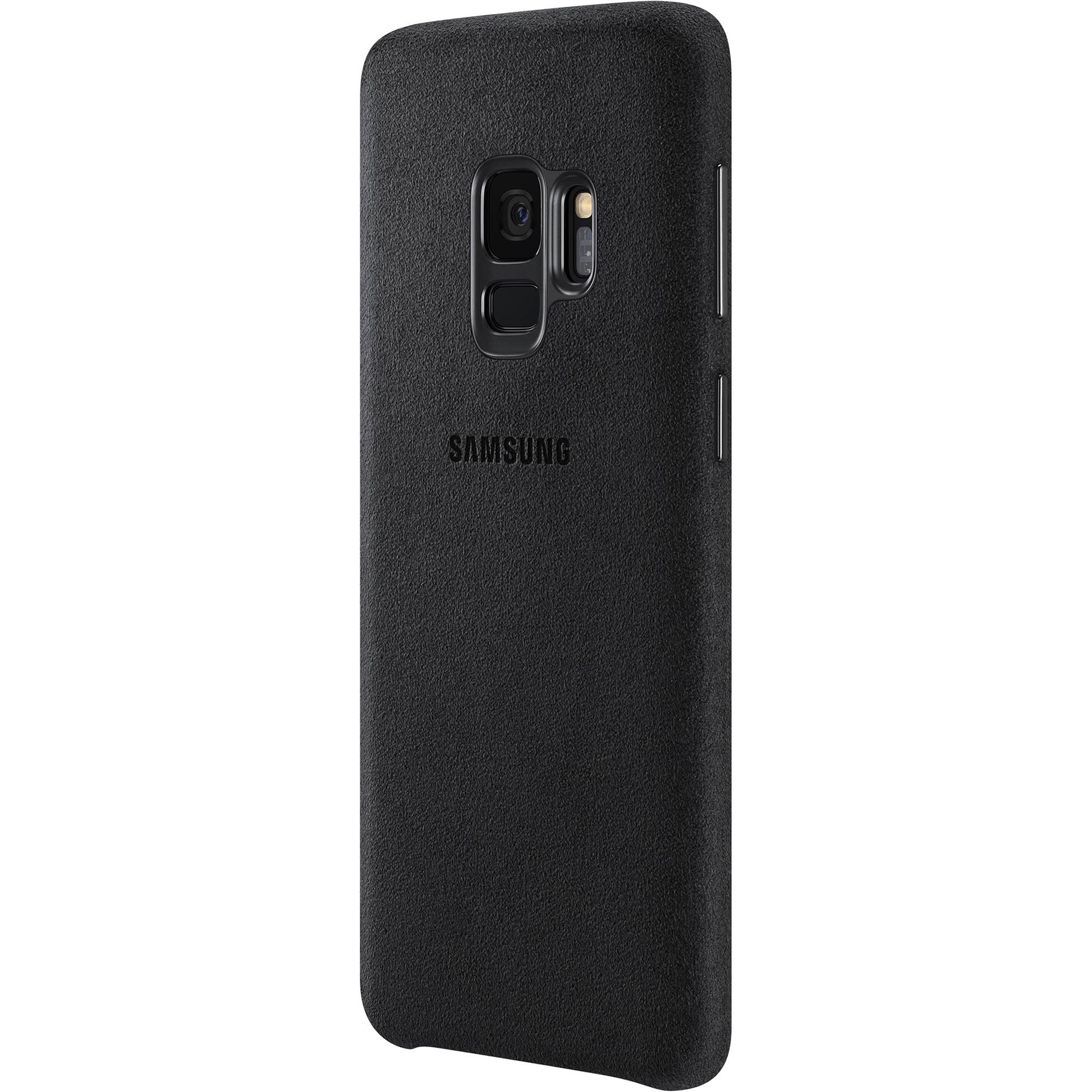 online store f129e b2696 Samsung Alcantara Case for Galaxy S9 (Black)