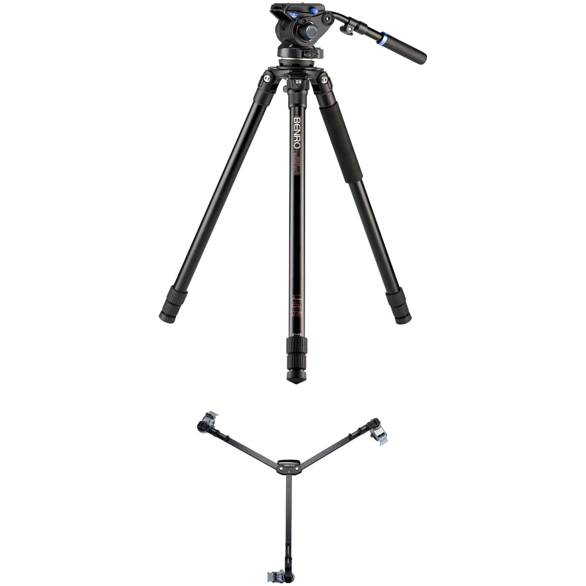 KH26NL Long Leg Benro Basic Video Tripod Kit