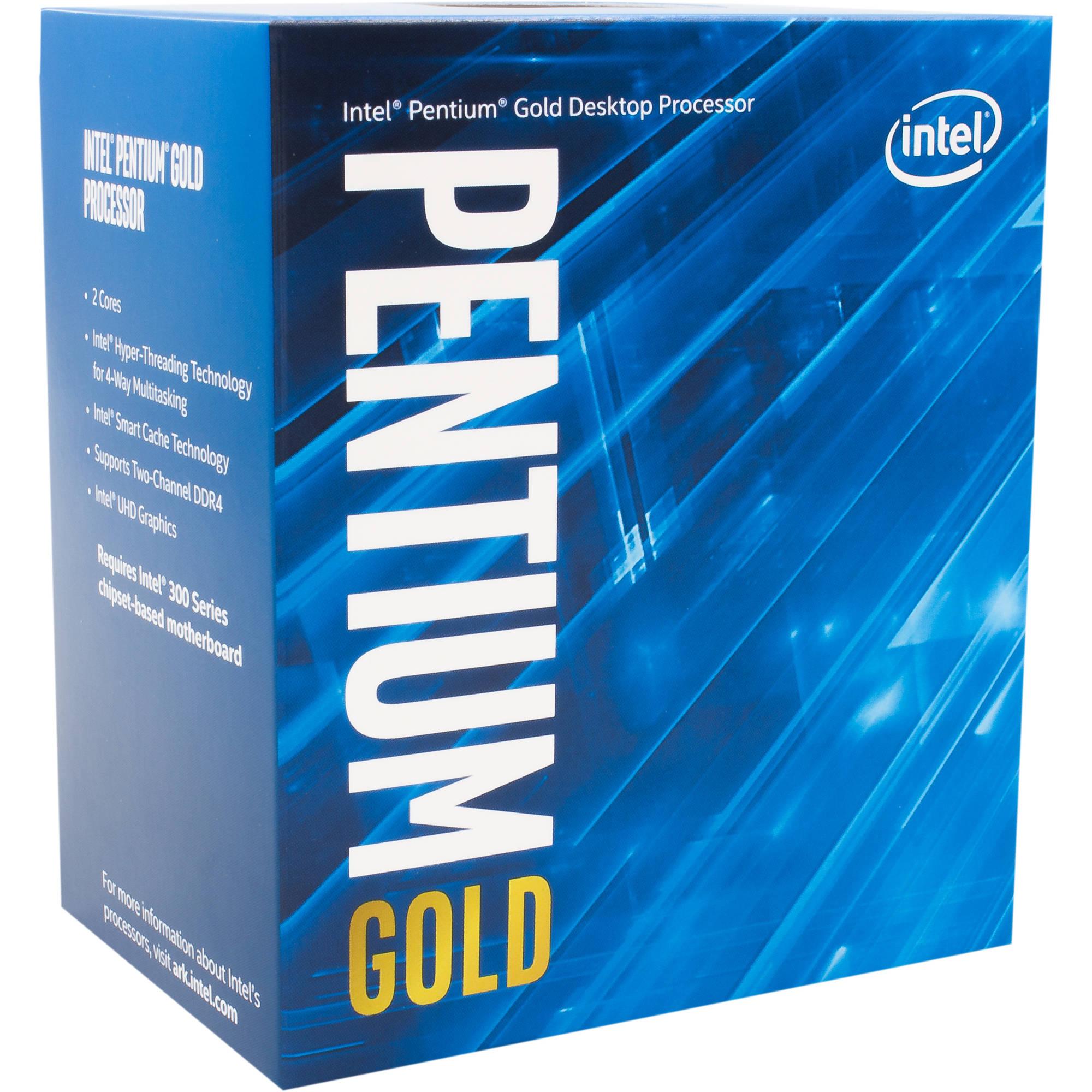 Intel Pentium G5400 3 7 GHz Dual-Core LGA 1151 Processor (Retail)