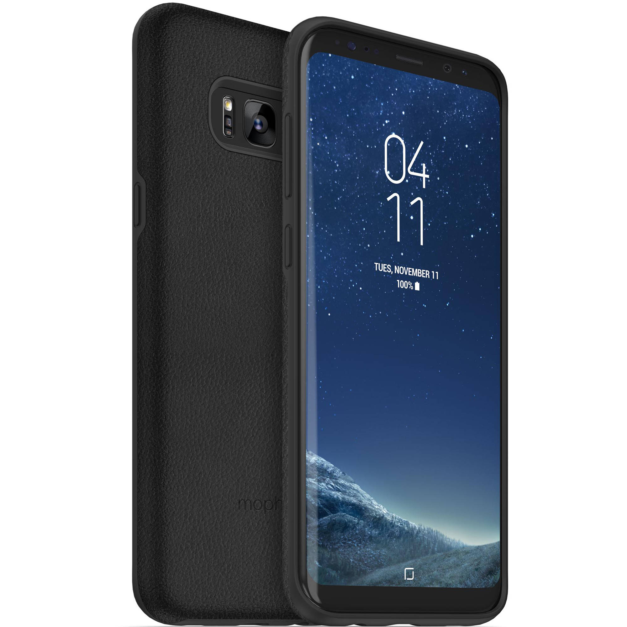 size 40 18252 da562 mophie Samsung Galaxy S8+ charge force case & powerstation mini