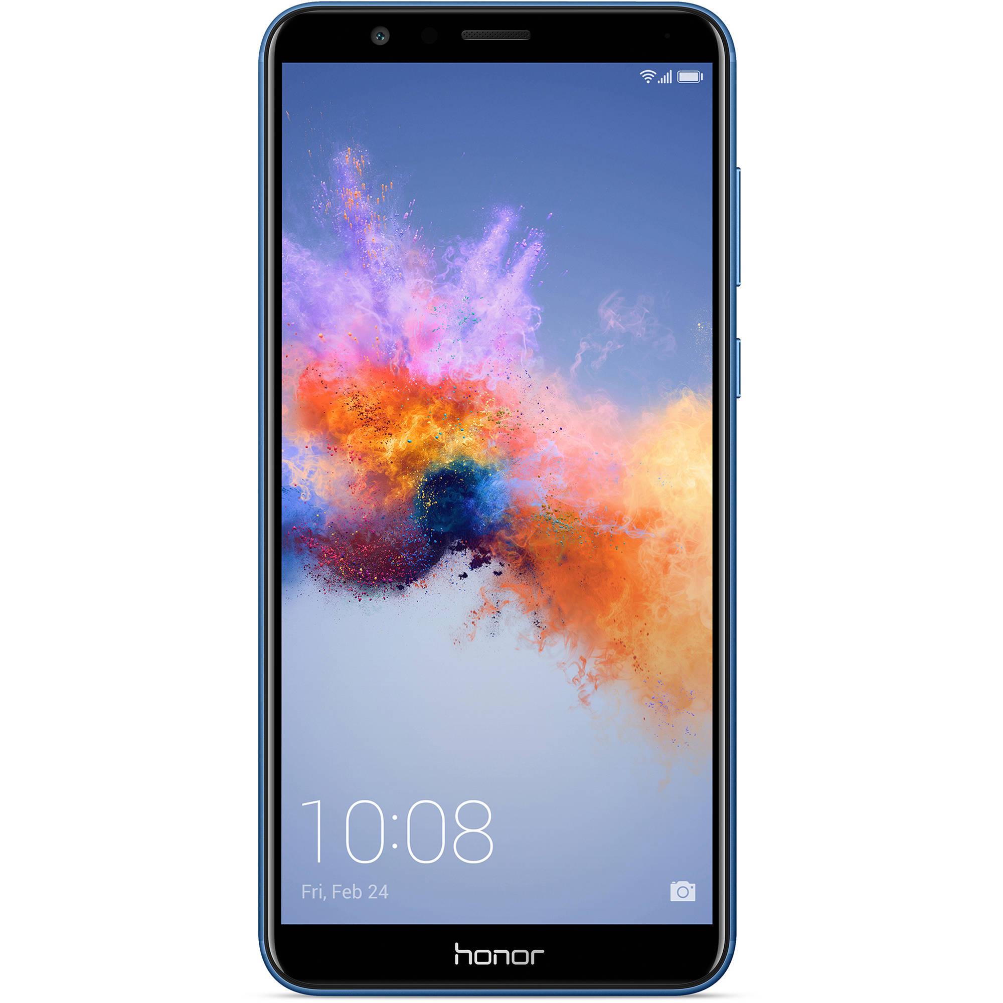 honor 7X L24 32GB Smartphone (Unlocked, Blue)