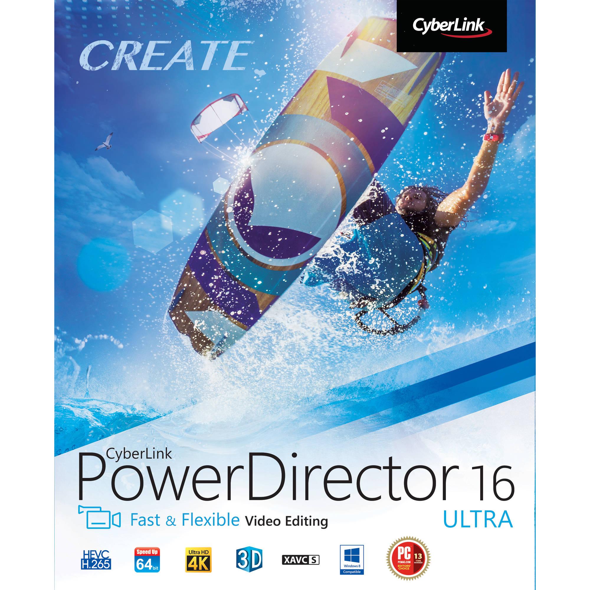 CyberLink PowerDirector 16 Ultra (Download)