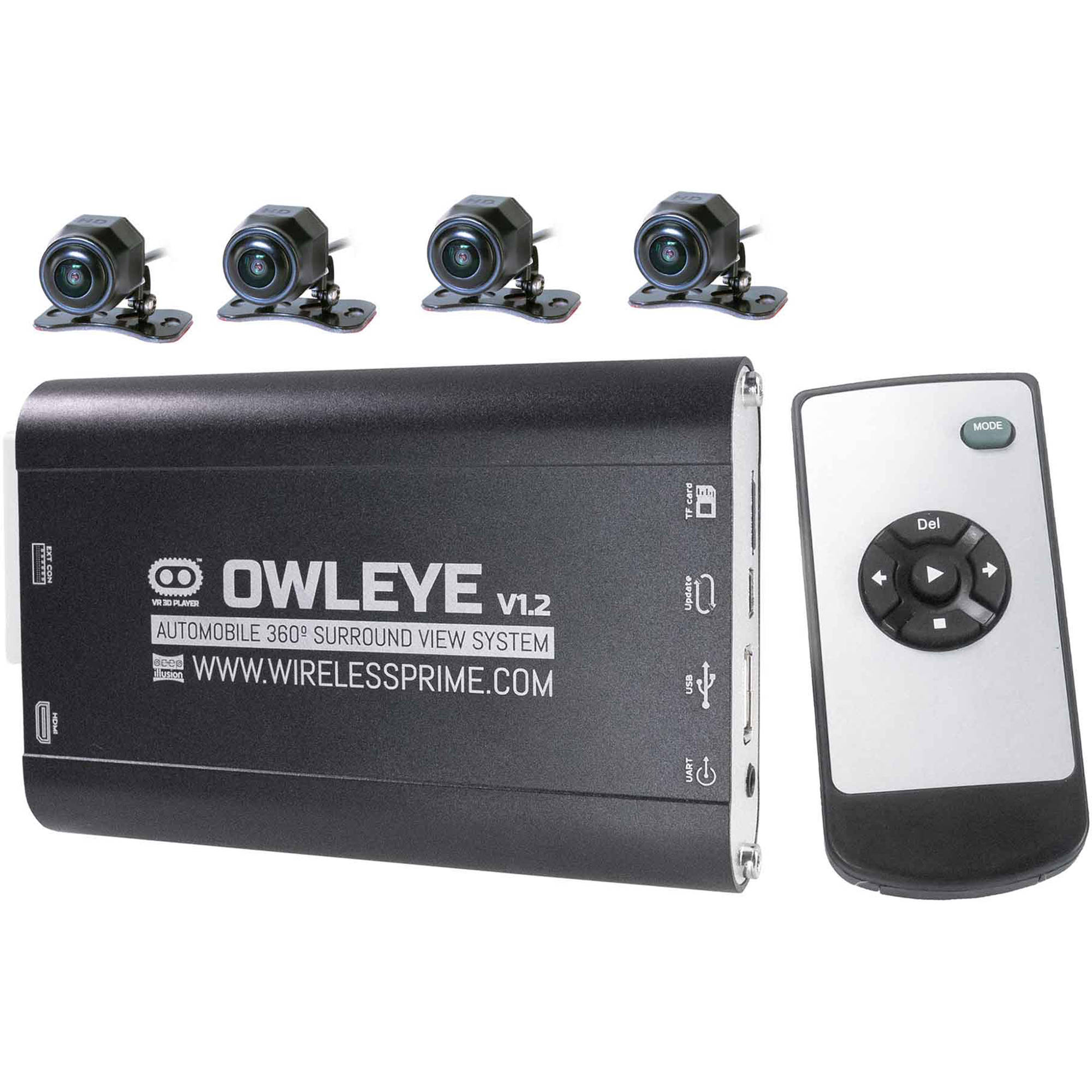 CINEGEARS OWLEYE Automobile VR 360° DVR Surround View System for Commercial  Vehicles V1 2