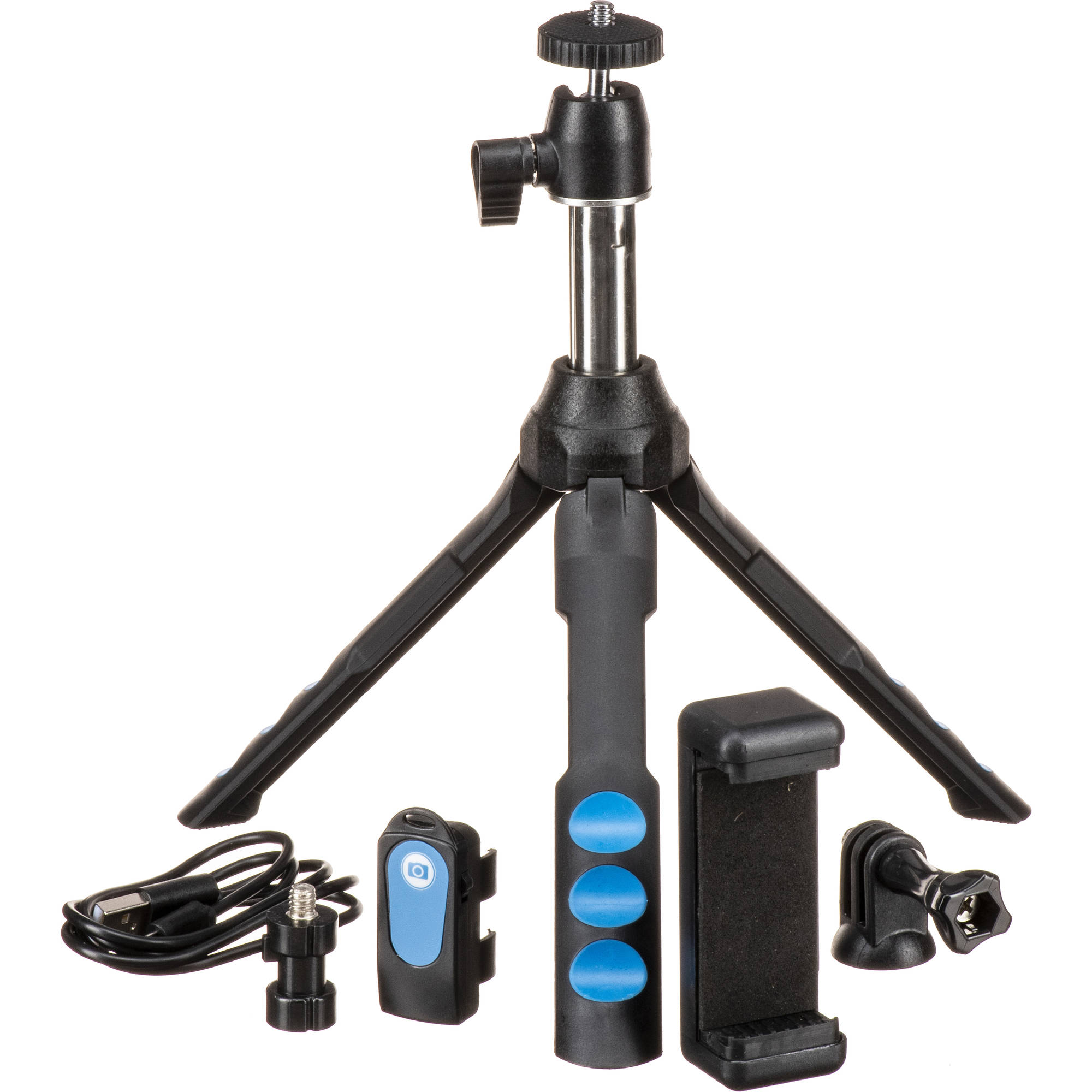 48eb3f9341ef8f Vidpro MP-15 2-in-1 Mini-Tripod & Selfie Stick MP-15 B&H