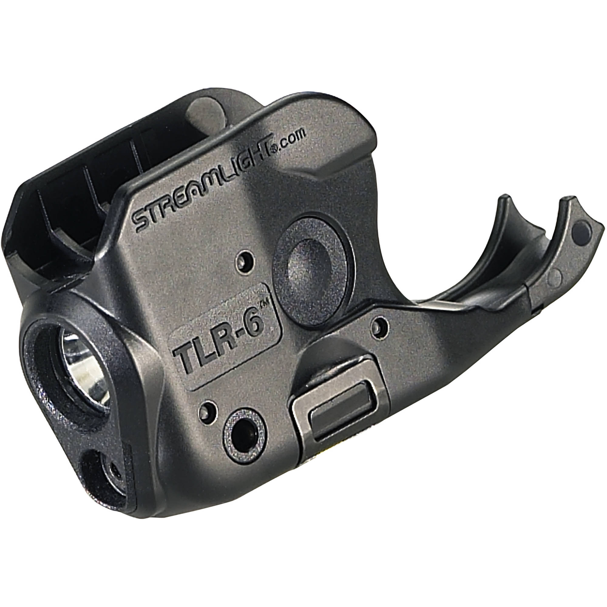 Streamlight TLR-6 Gun-Mounted Tactical Light with Red Aiming Laser for  Kimber Micro (Black)