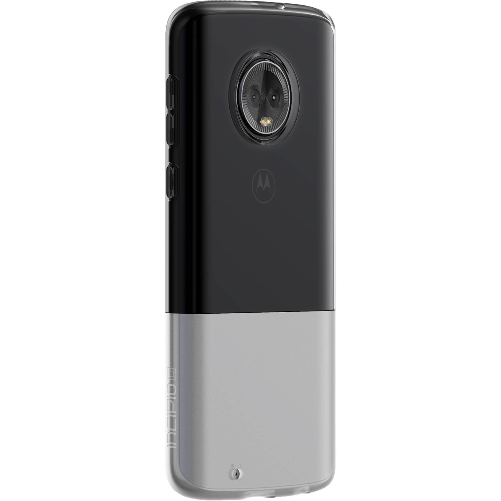 premium selection 8b9d1 9cfc8 Incipio NGP Flexible Shock Absorbent Case for Moto G6 (Clear)