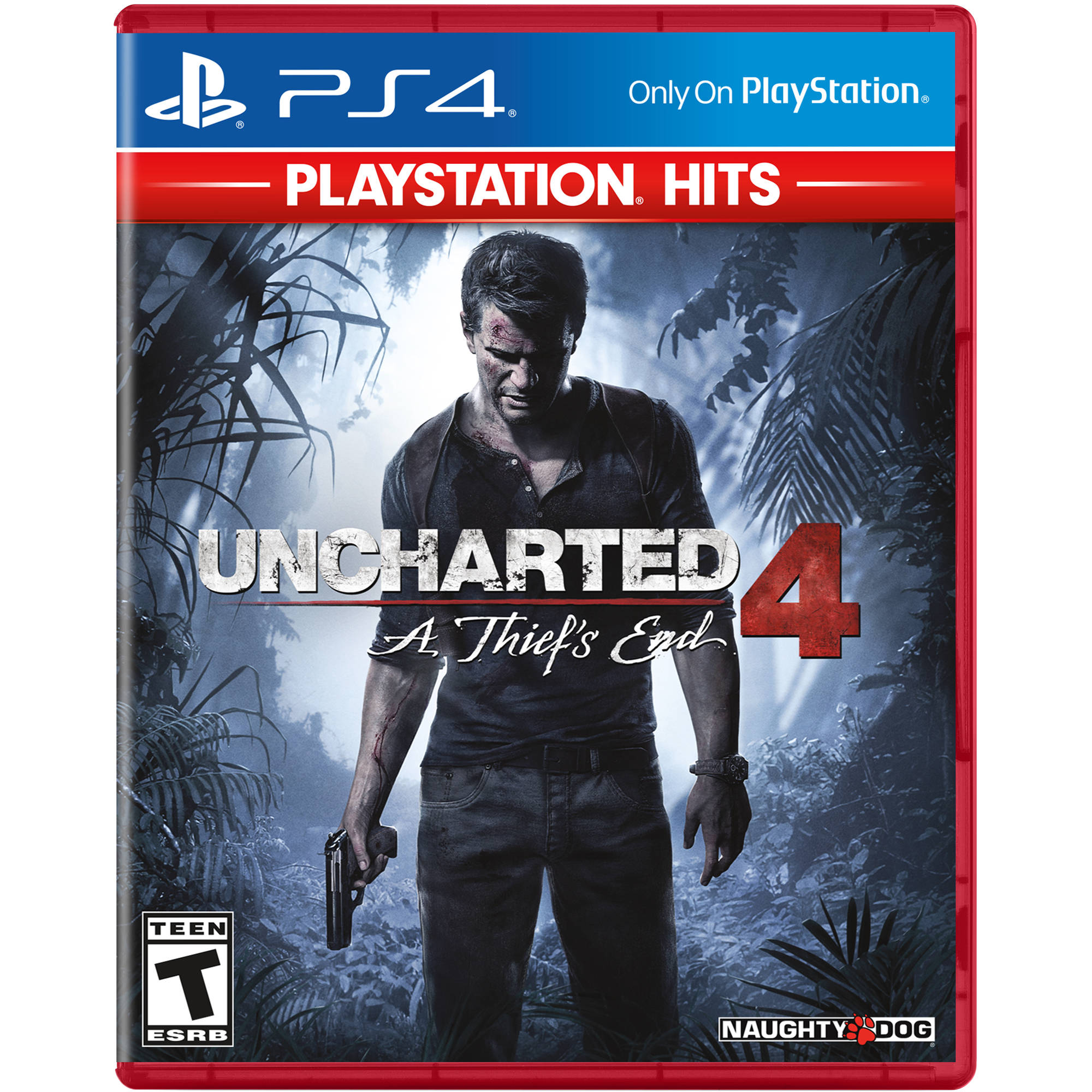 Sony Playstation Hits Uncharted 4 A Thief S End Ps4 3003543