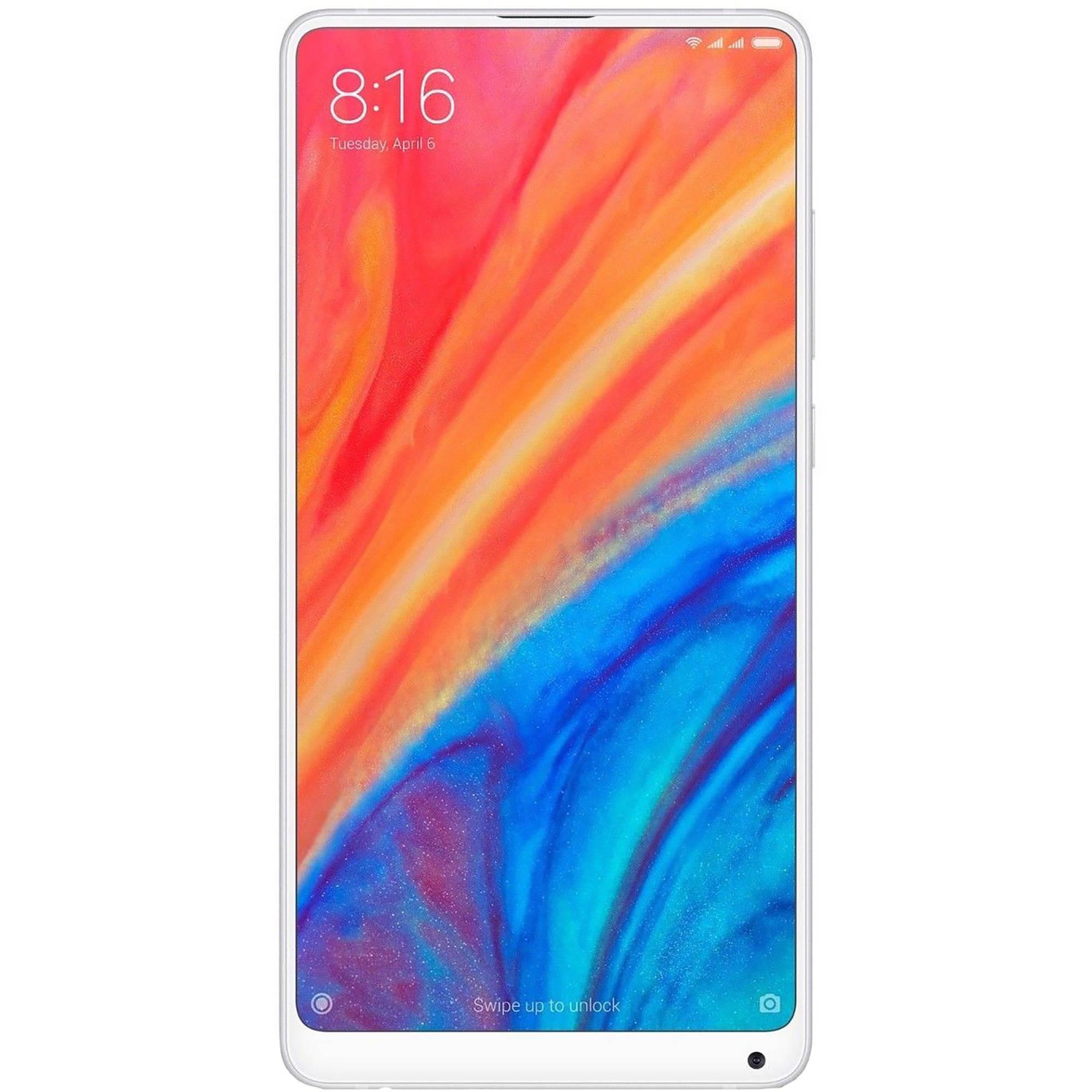 Xiaomi Mi Mix 2S Dual-SIM 64GB Smartphone (Unlocked, White)