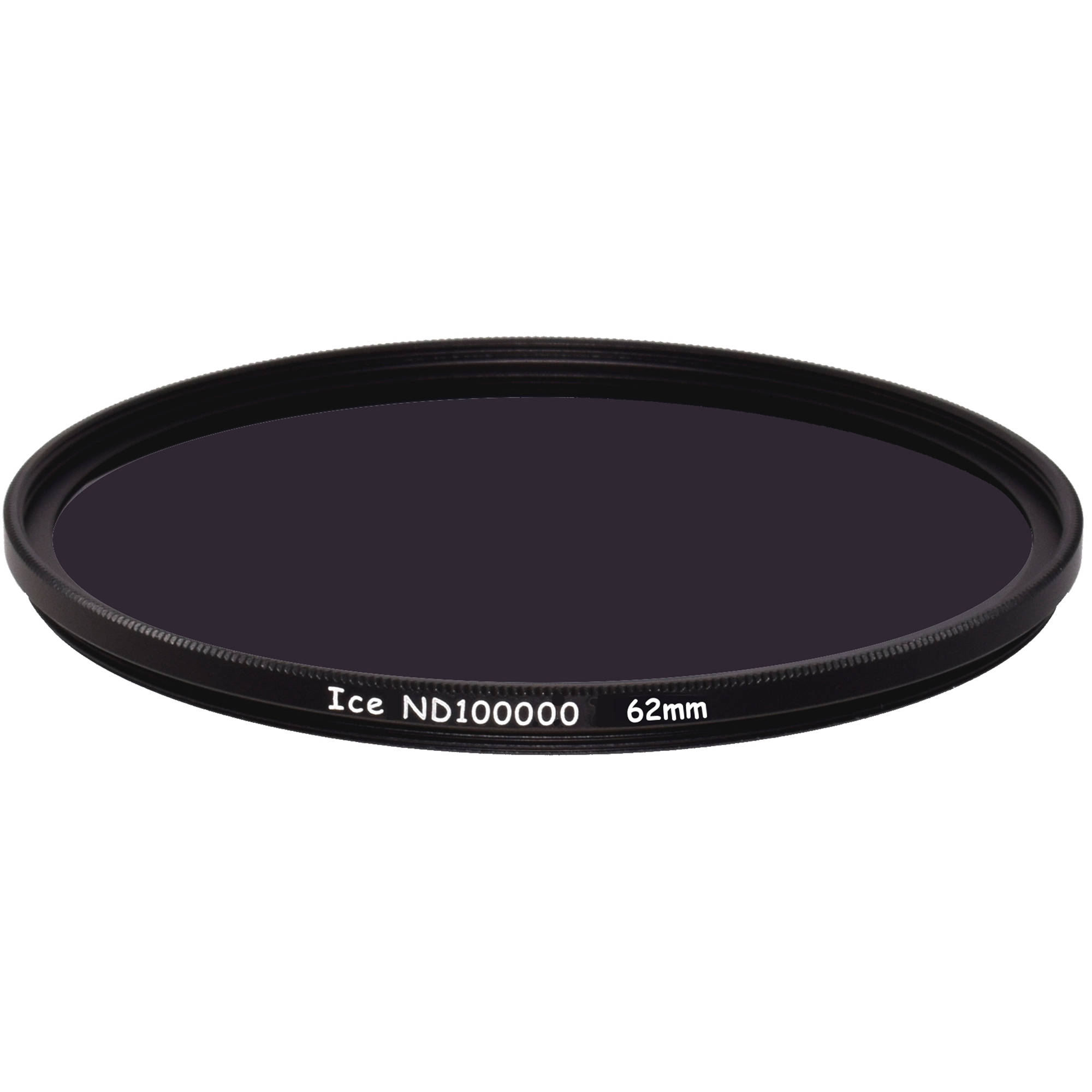 Ice 62mm ND100000 Solid Neutral Density 5 0 Filter (16 5-Stop)