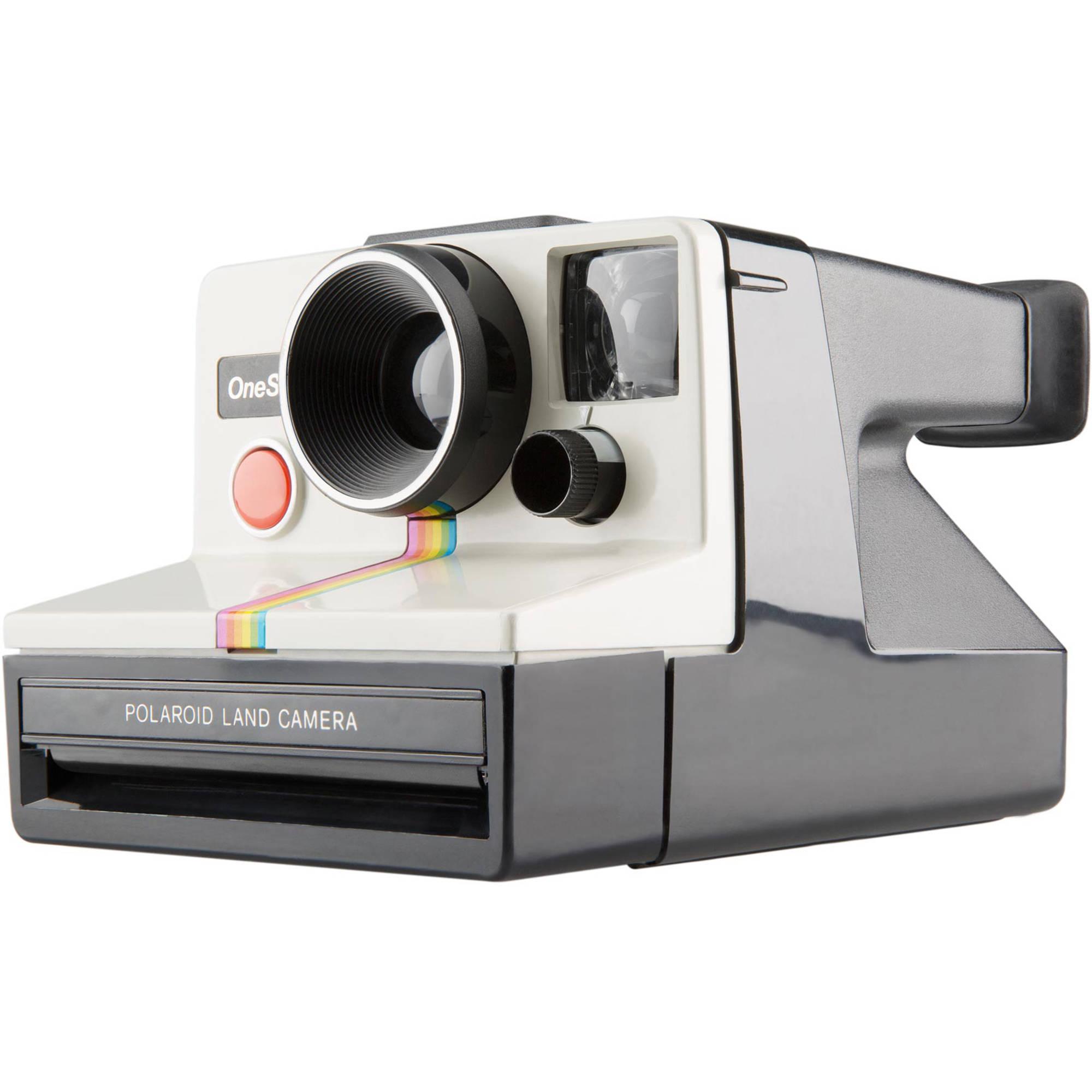 Polaroid Originals SX-70 OneStep Instant Film Camera (White)