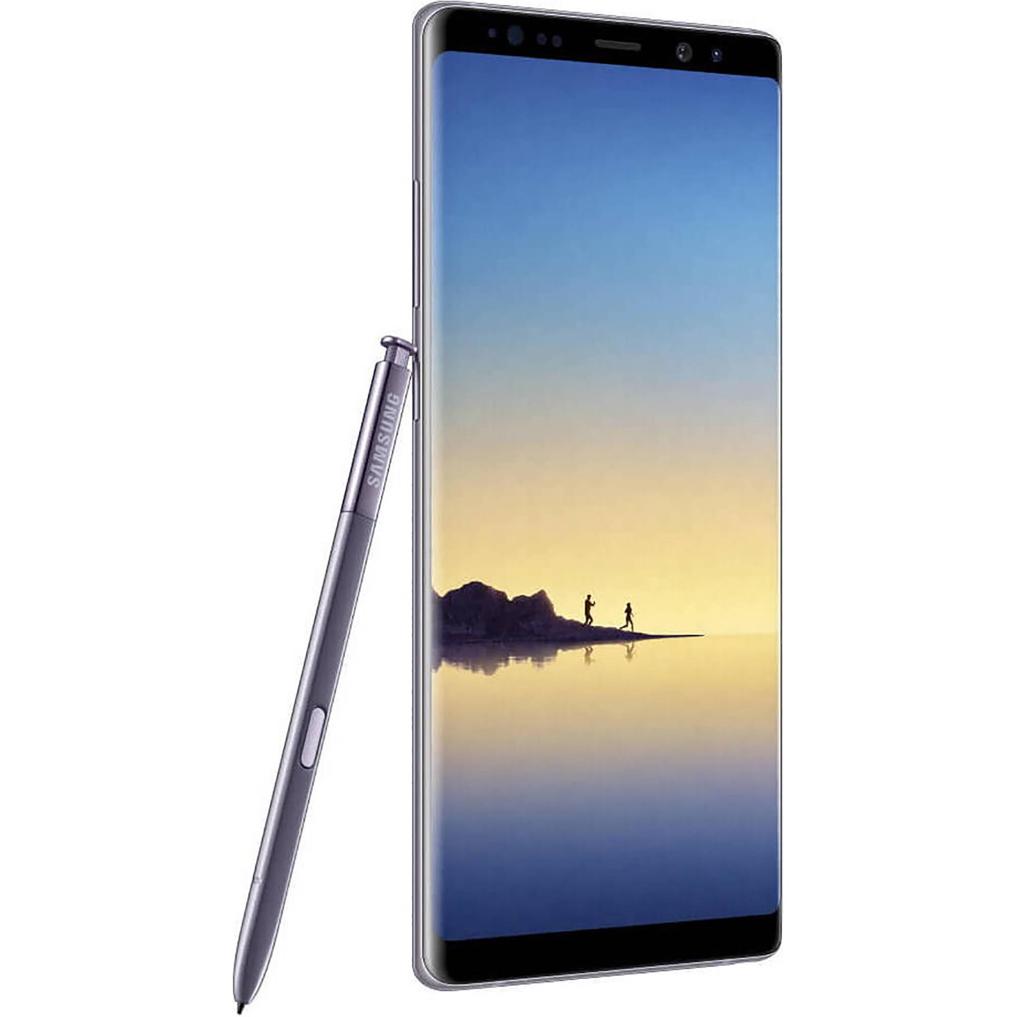 Samsung Galaxy Note8 SM-N950F Dual-SIM 64GB Smartphone (Unlocked, Midnight  Gray)