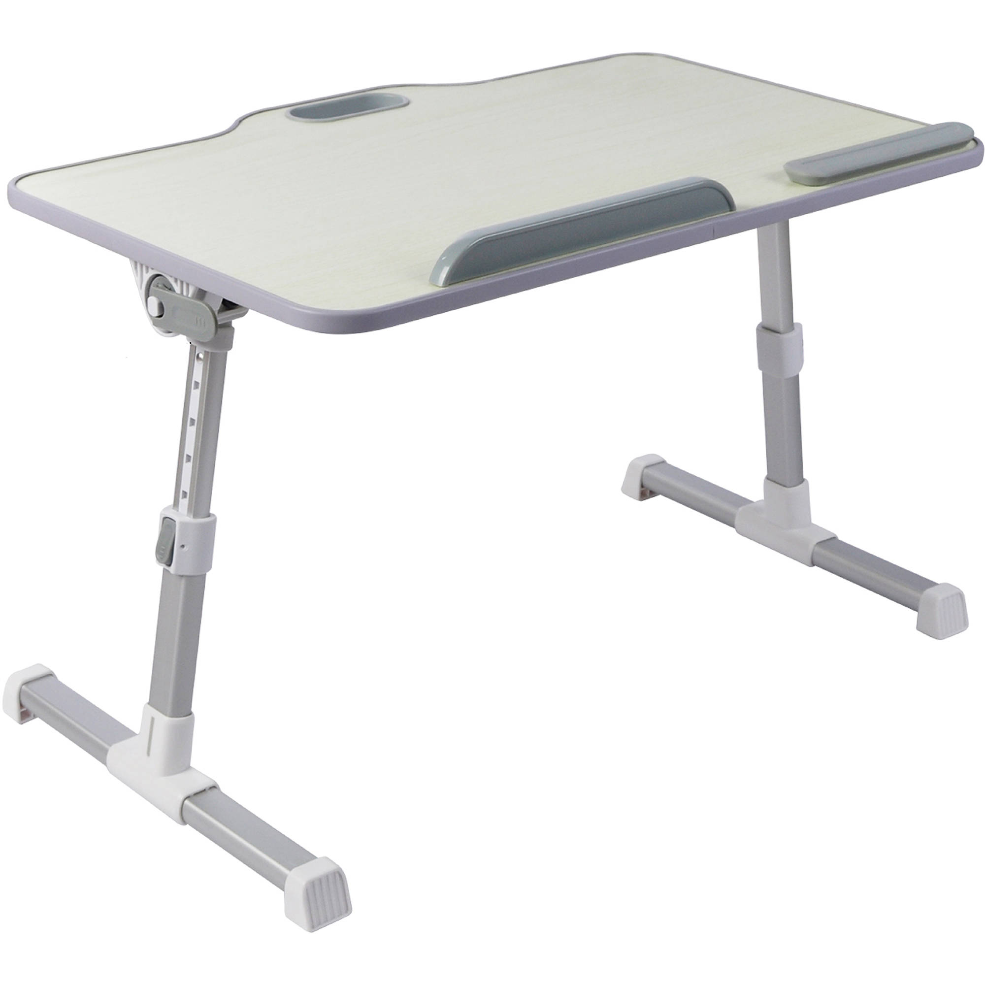 Portable Laptop table Stand Height /& Angle Adjustable Standing Desk Beige color