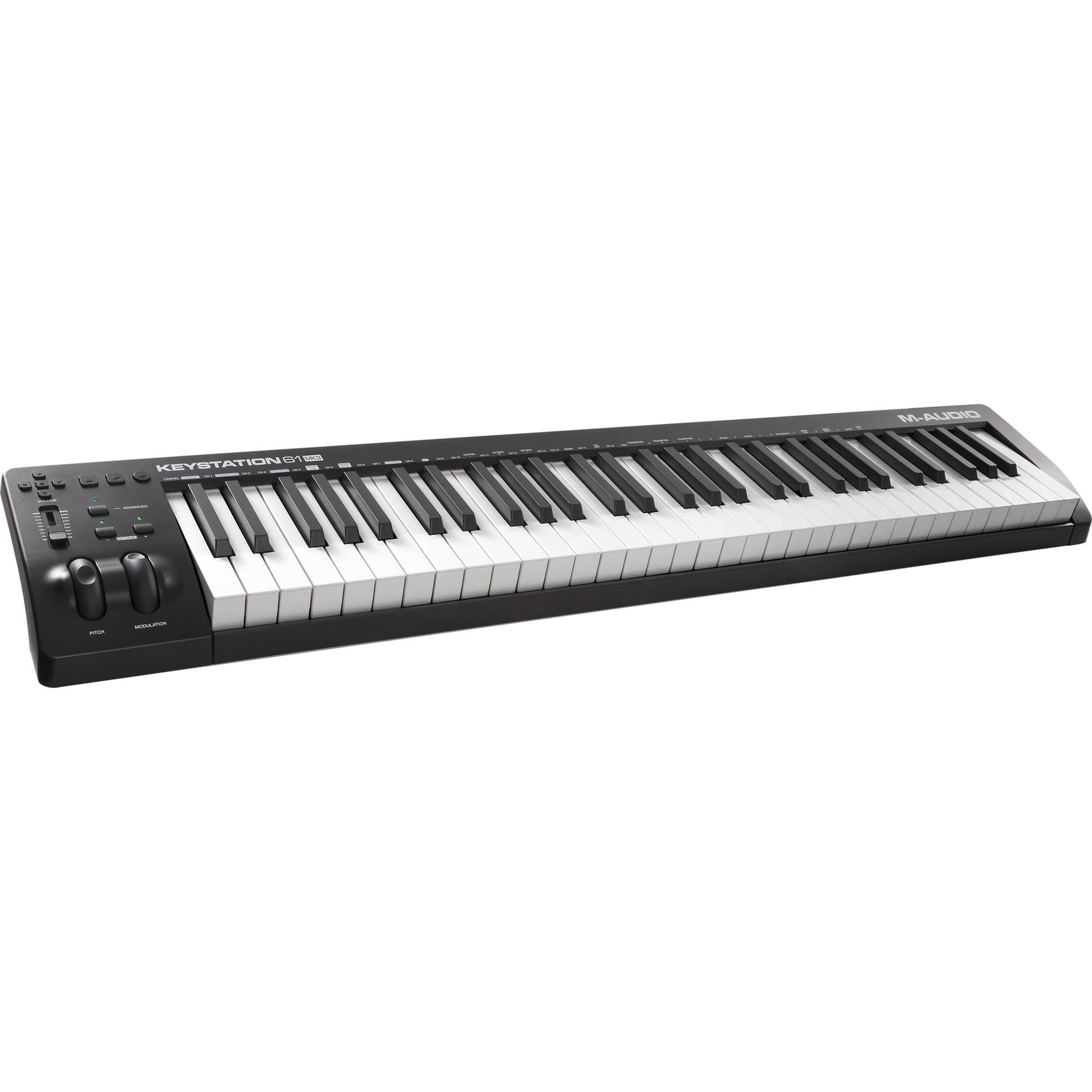 M-Audio Keystation Mini 32 MK3 Portable Mini-USB MIDI Controller
