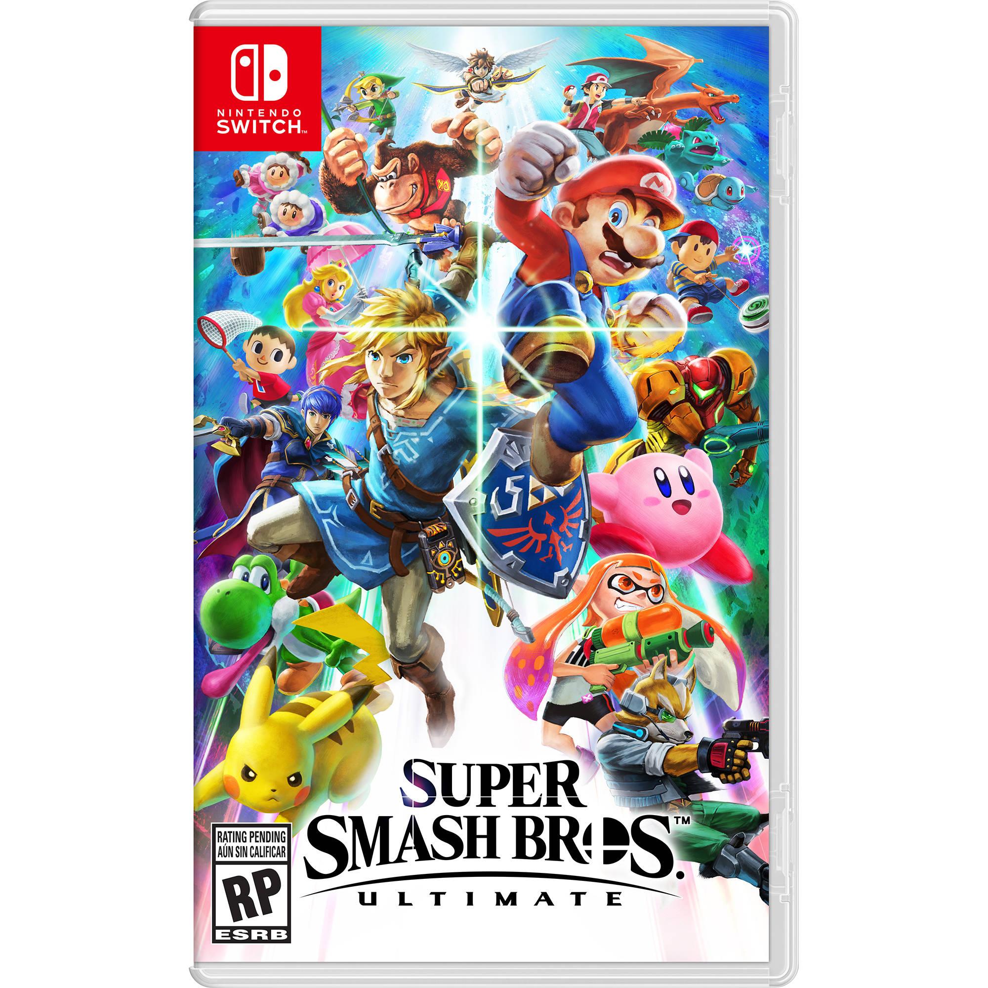 Nintendo Super Smash Bros  Ultimate (Nintendo Switch)