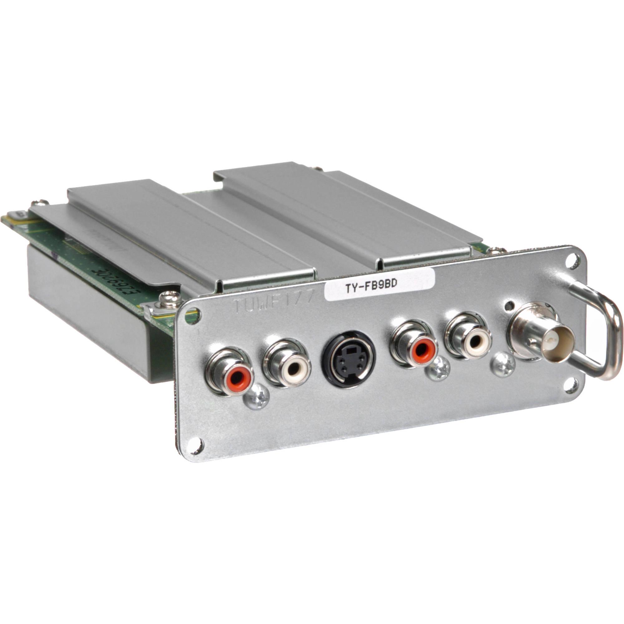 Panasonic TY-FB9BD Dual Video Terminal Board for 9 Series Professional  Plasma Displays