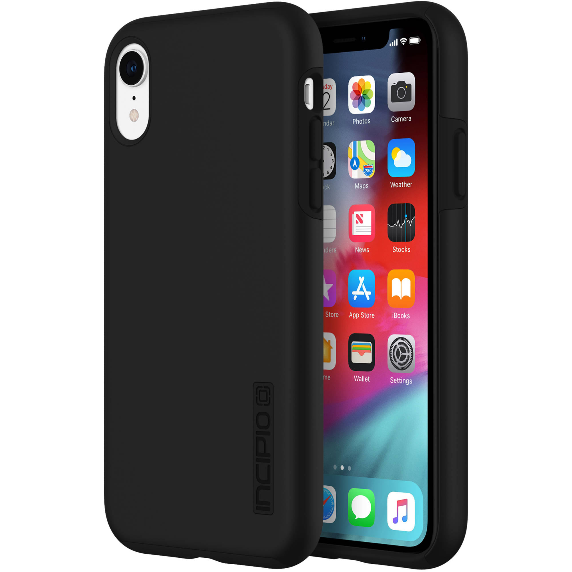 promo code 8311f a573a Incipio DualPro Case for iPhone XR (Black)