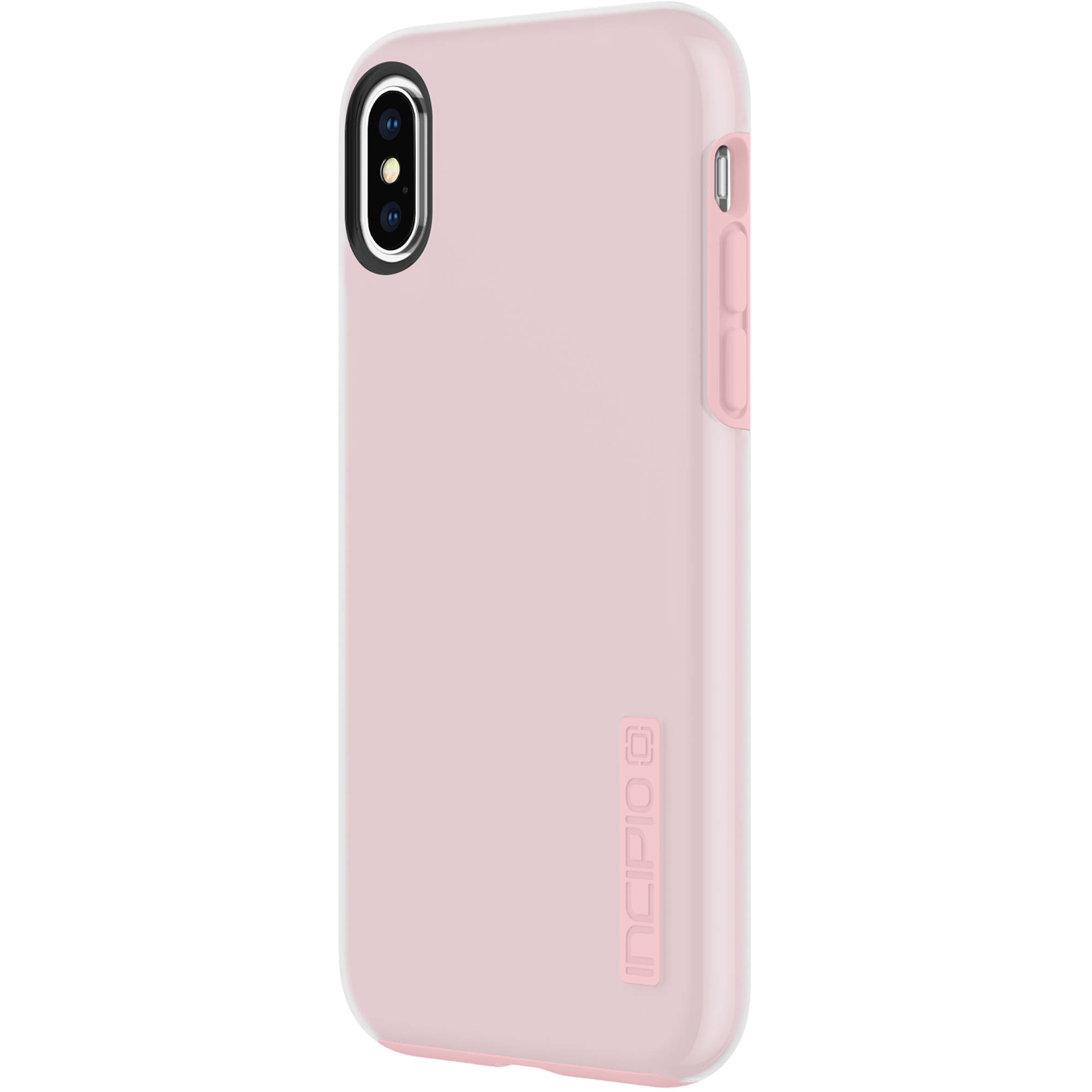 new style 5c65d 1cce2 Incipio DualPro Case for iPhone Xs (Raspberry Ice) IPH-1776-RBI