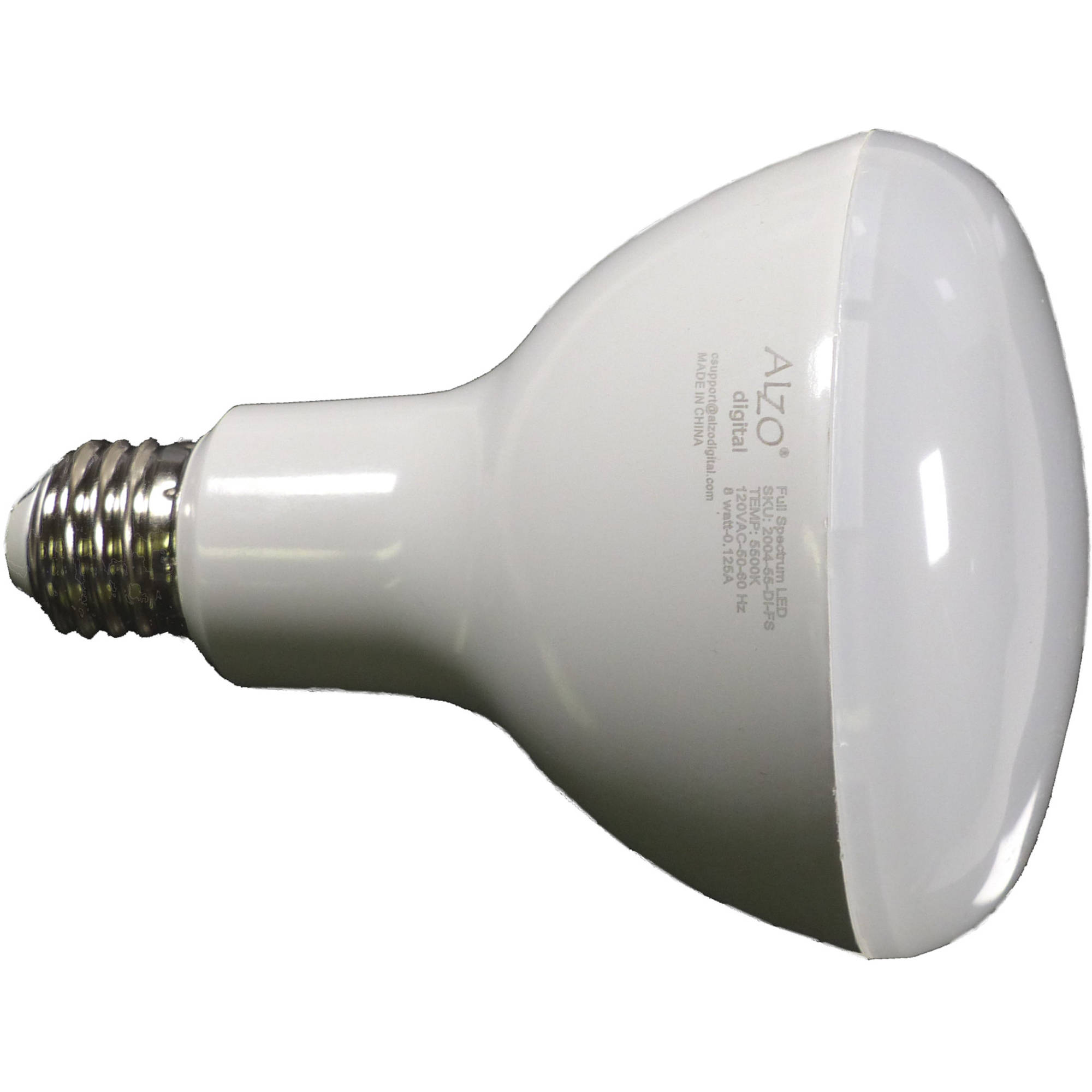 Alzo Joyous Light Dimmable Full Spectrum Led Par38 Flood Bulb 18w 120v