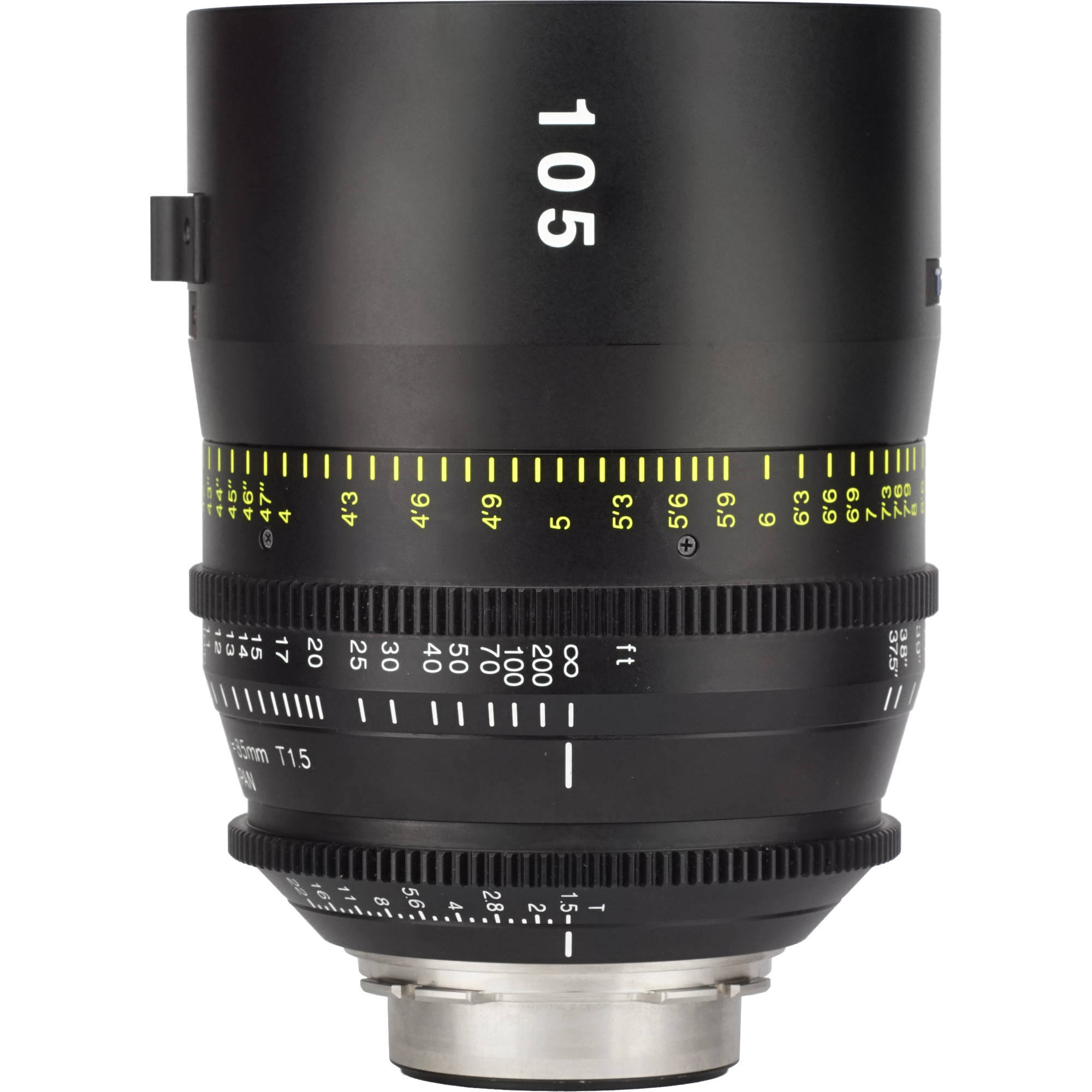 Tokina 105mm T1 5 Cinema Vista Prime Lens (PL Mount, Focus Scale in Feet)