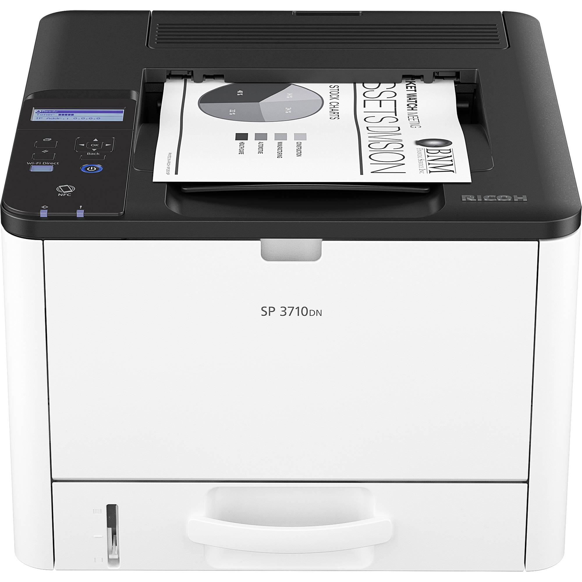 Ricoh SP 3710DN Monochrome Laser Printer