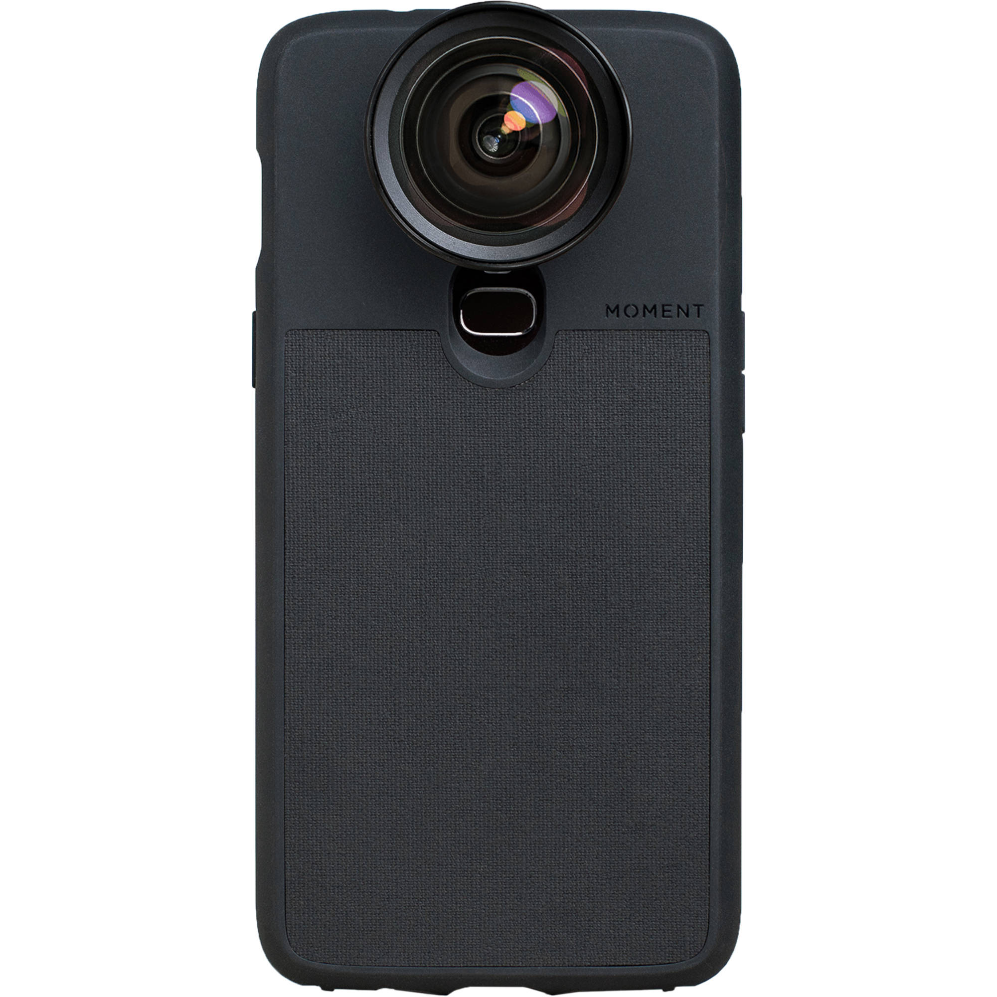 the latest 3dd3a c9944 Moment Photo Case for the OnePlus 6 (Black Canvas)
