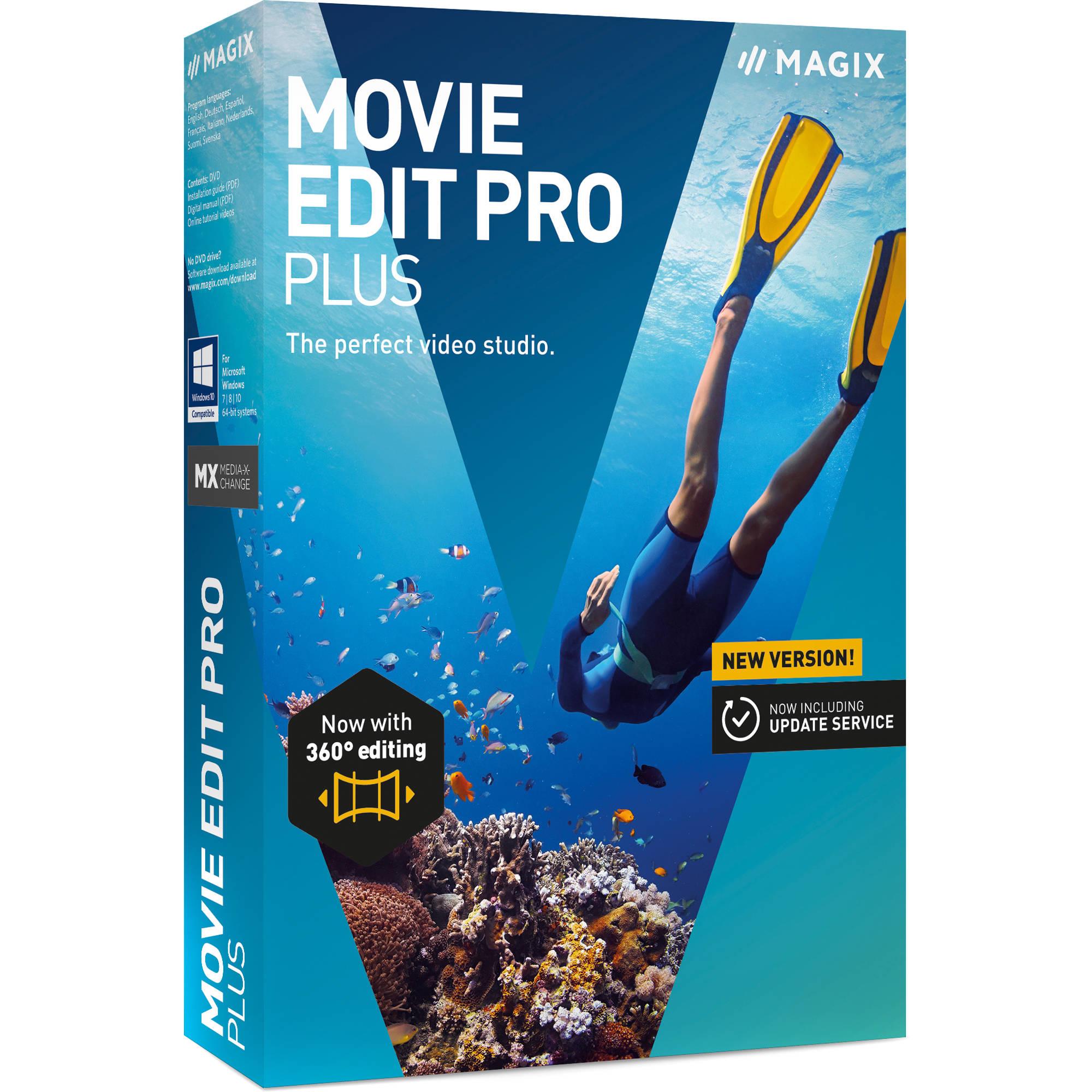 Magix Entertainment Movie Edit Pro Plus 2019 Volume 100 Download