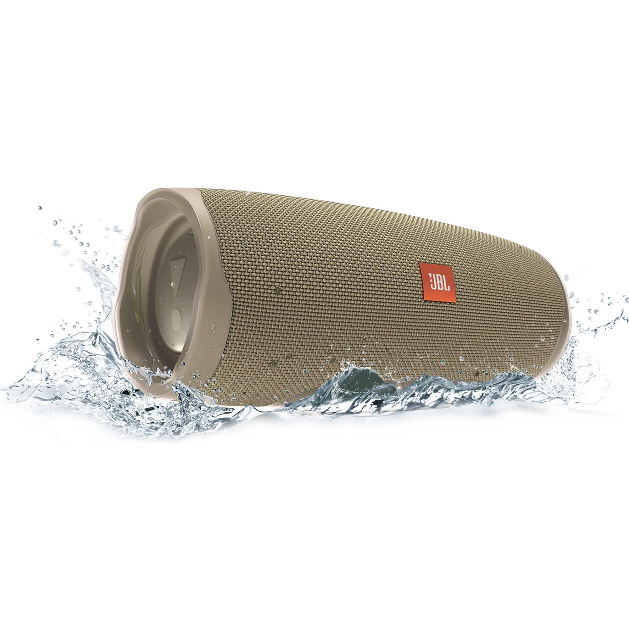 Jbl Charge 4 Portable Bluetooth Speaker Sand Jblcharge4sandam
