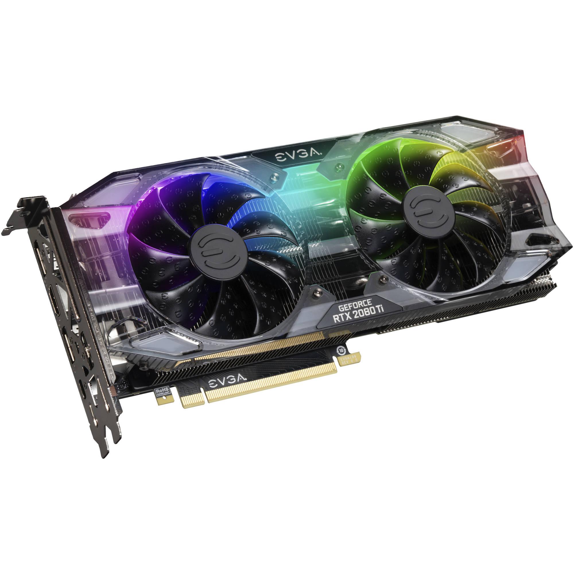 EVGA GeForce RTX 2080 Ti XC GAMING Graphics Card