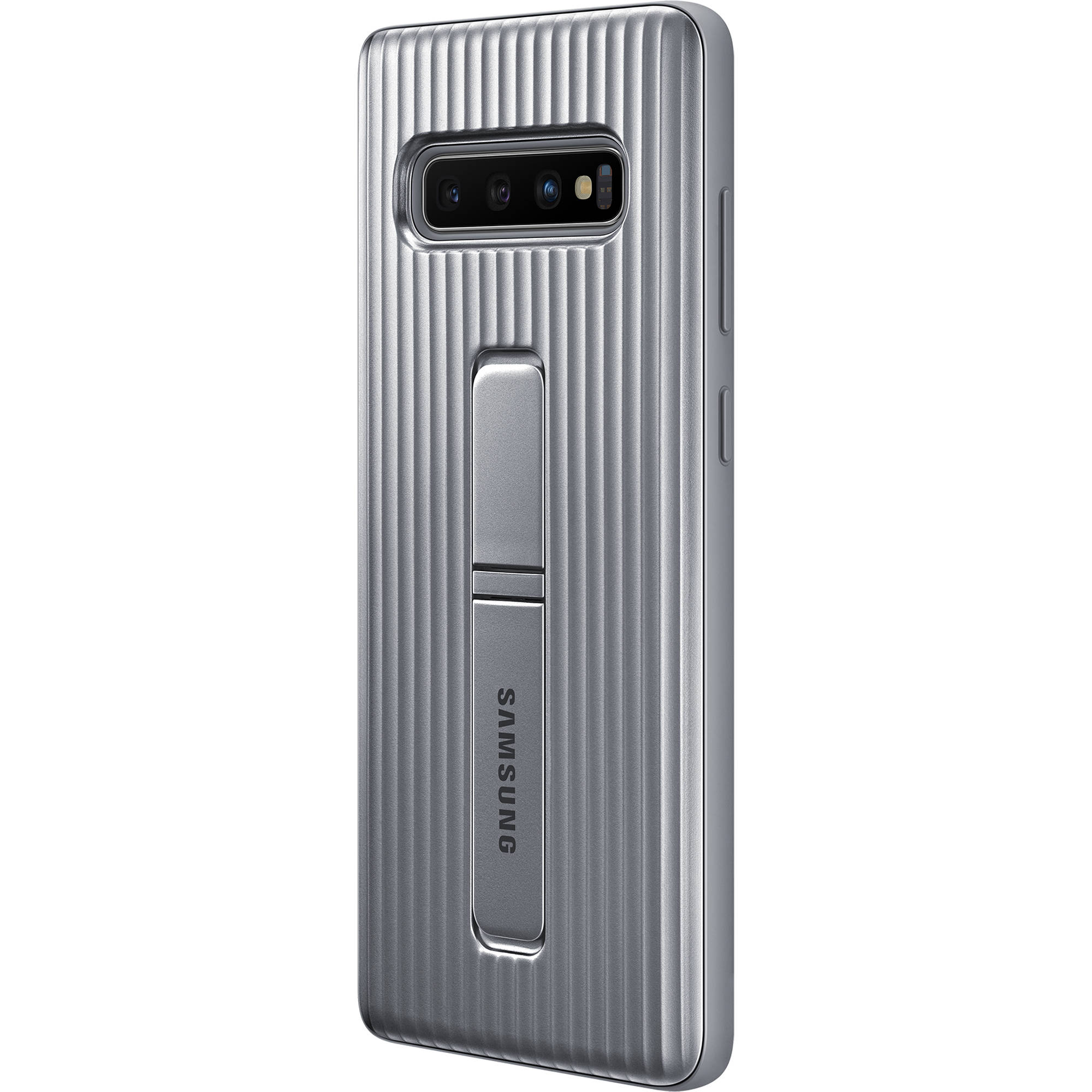 new arrival 5c54c e7086 Samsung Rugged Protective Cover for Galaxy S10+ (Silver)