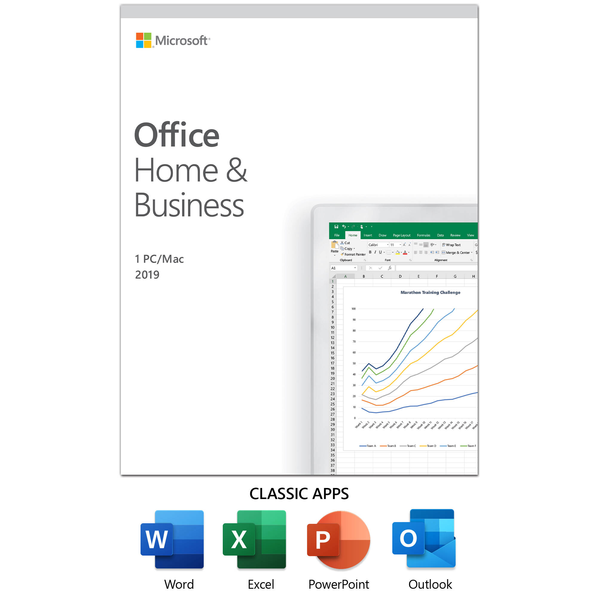 Microsoft Office Home & Business 2019 T5D-03190 B&H Photo
