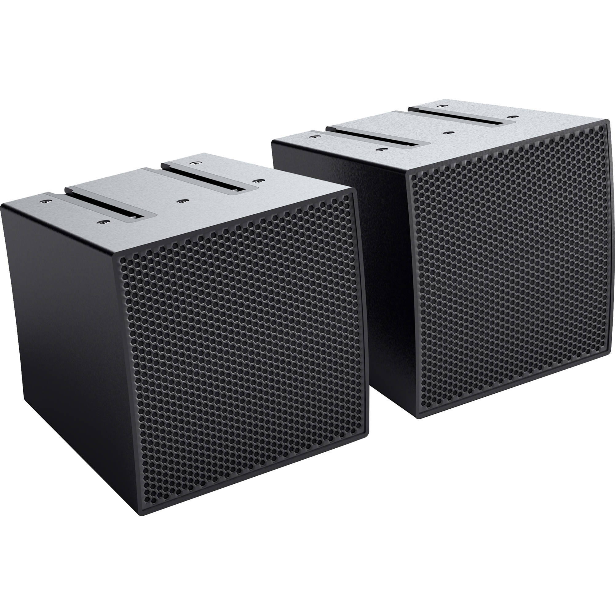 LD Systems CURV 500 S2 Two Array Satellites for CURV 500 Portable Array  System (Black)