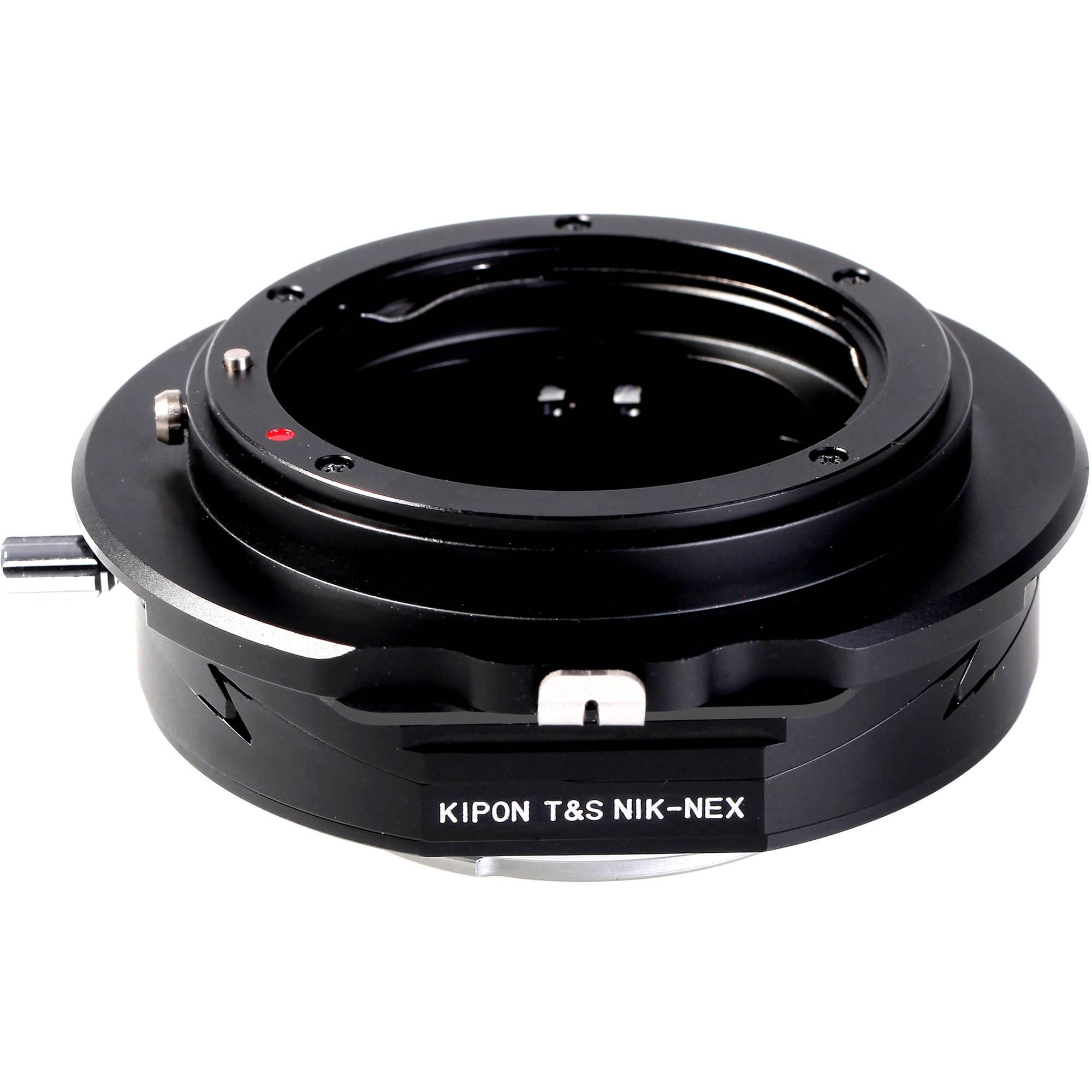 Kipon Tilt Adapter für Nikon F auf Sony E by studio-ausruestung.de