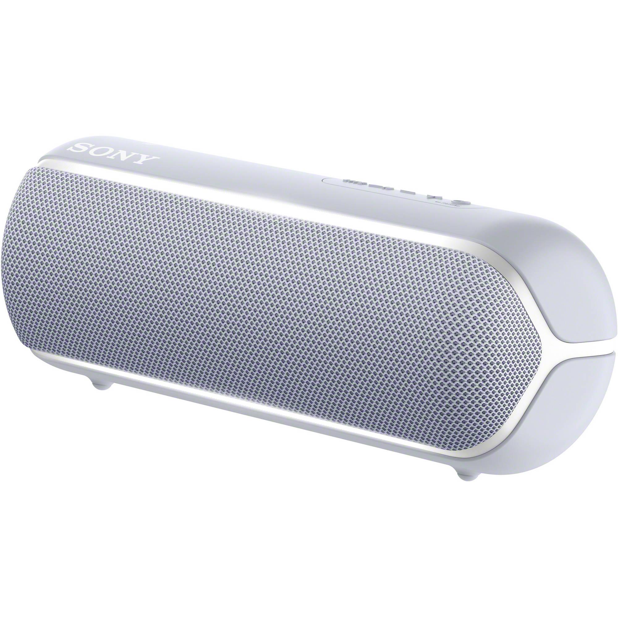 Sony Xb22 Extra Bass Portable Bluetooth Speaker Gray Srsxb22 H