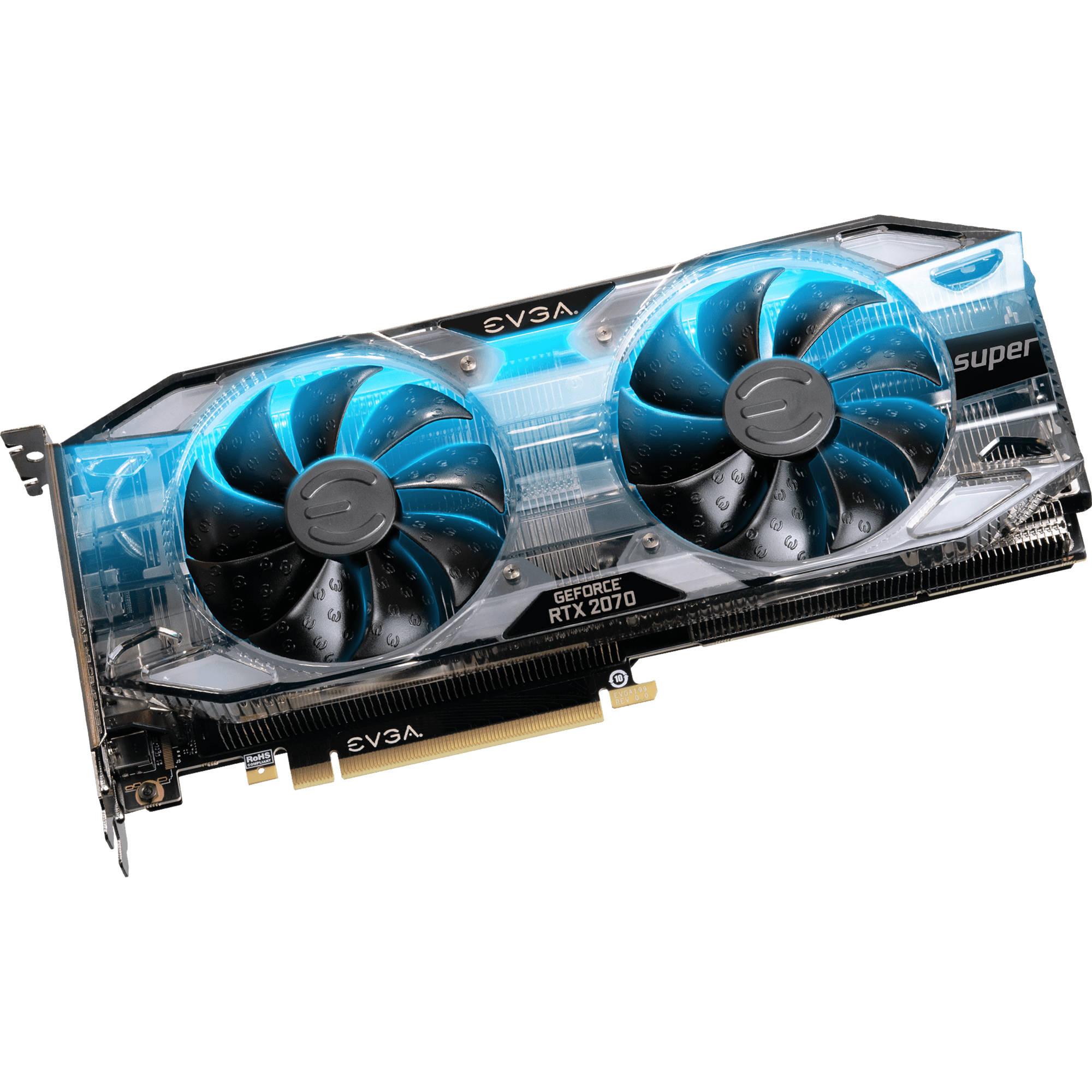 9576124c5f5 EVGA GeForce RTX 2070 SUPER XC GAMING Graphics Card