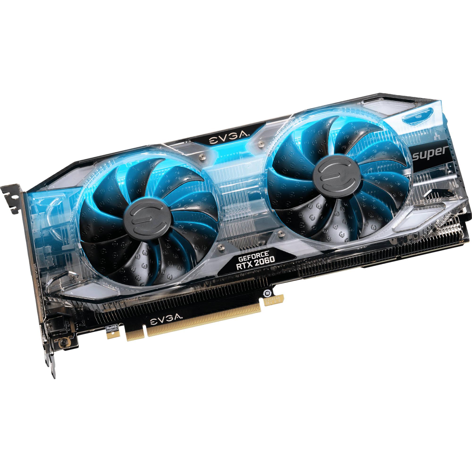EVGA GeForce RTX 2060 SUPER XC GAMING Graphics Card